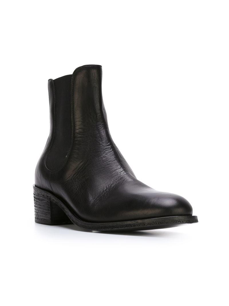 diesel black gold haupt mannel boots in black for lyst