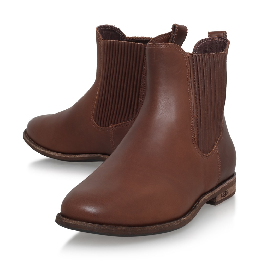Ugg Joey Women S Chelsea Boots In Brown For Men Lyst