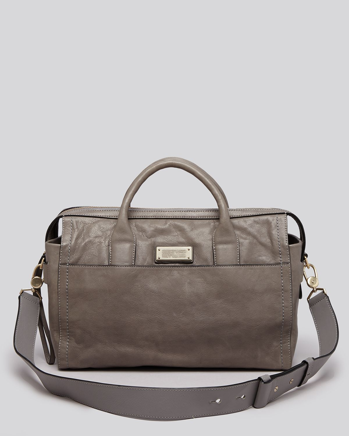 c6f4b0609d Lyst - Marc By Marc Jacobs Satchel - Mility Utility Jo in Gray