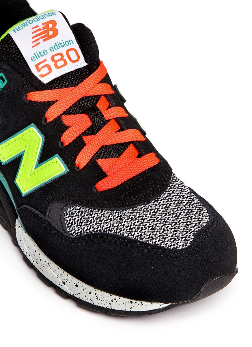 Lyst - New Balance '580 Elite Edition' Mesh Suede Sneakers