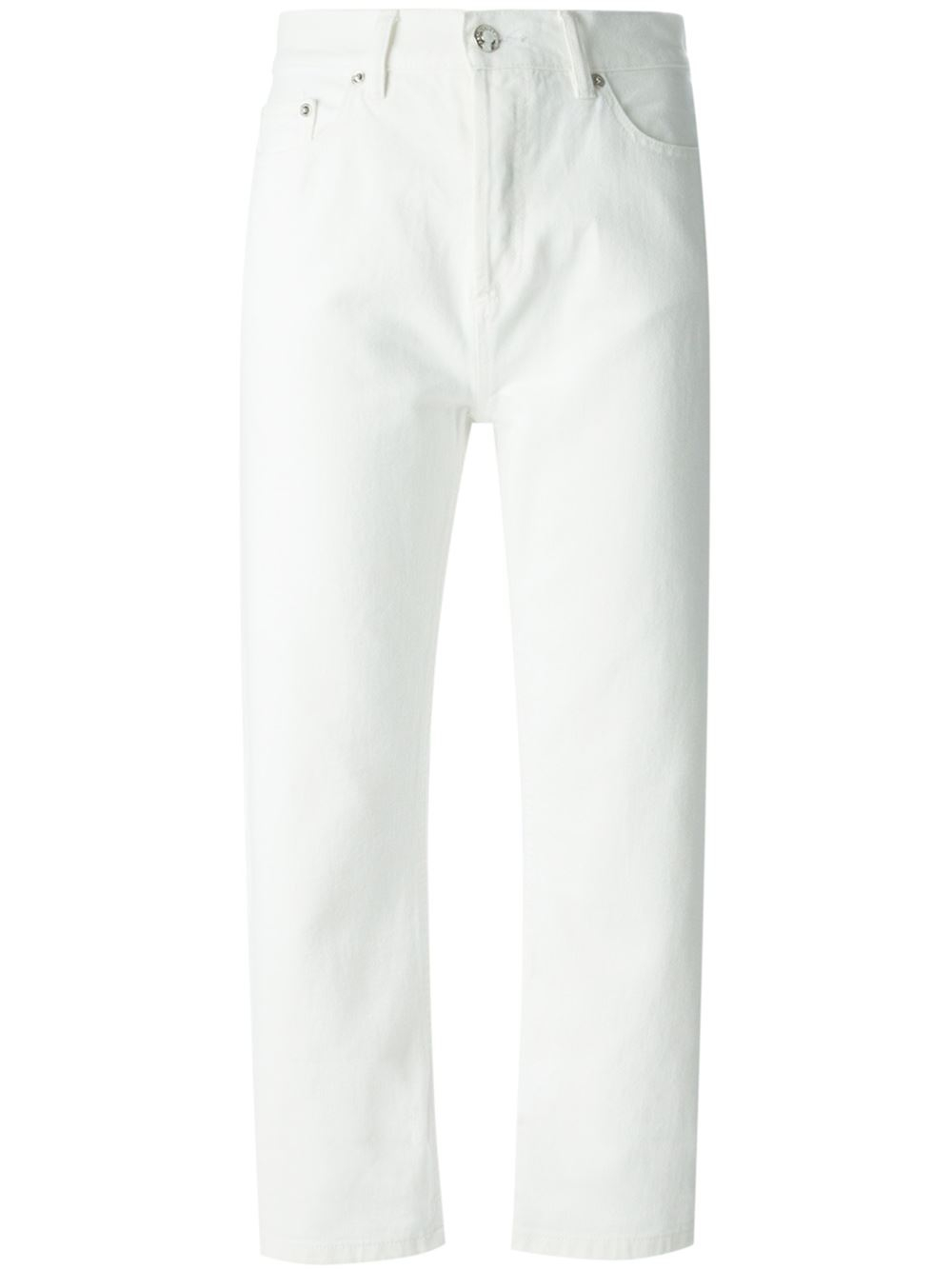 Next White Cropped Jeans