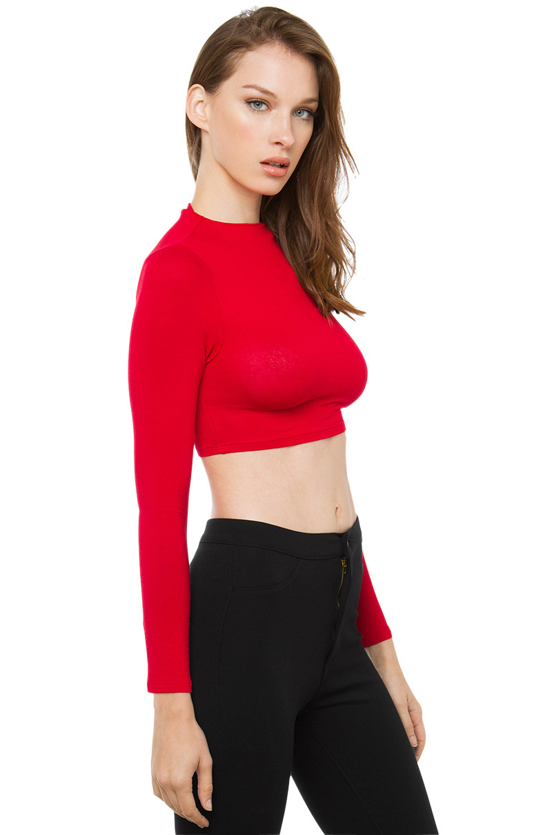 Shop fashion long sleeve red crop top sale online at Twinkledeals. Search the latest long sleeve red crop top with affordable price and free shipping available worldwide.