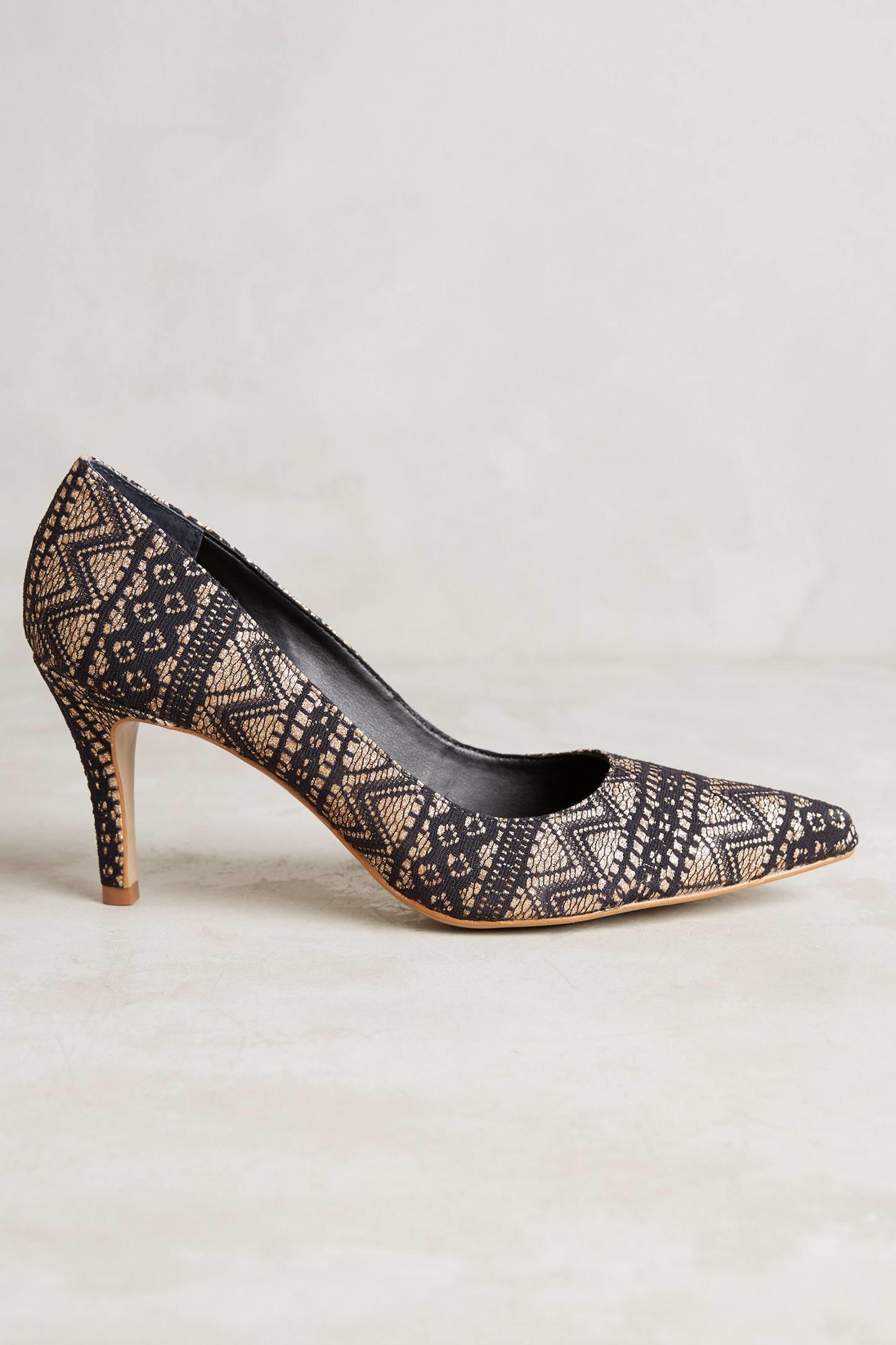 af80e1008cc Lyst - Raphaella Booz Rarity Heels in Brown