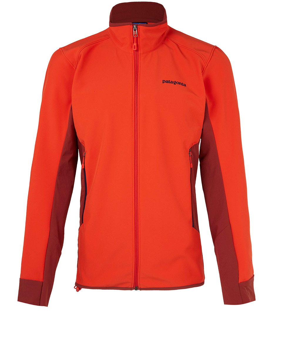 Patagonia Red Jacket: Patagonia Red Fleece Zip Jacket In Red For Men