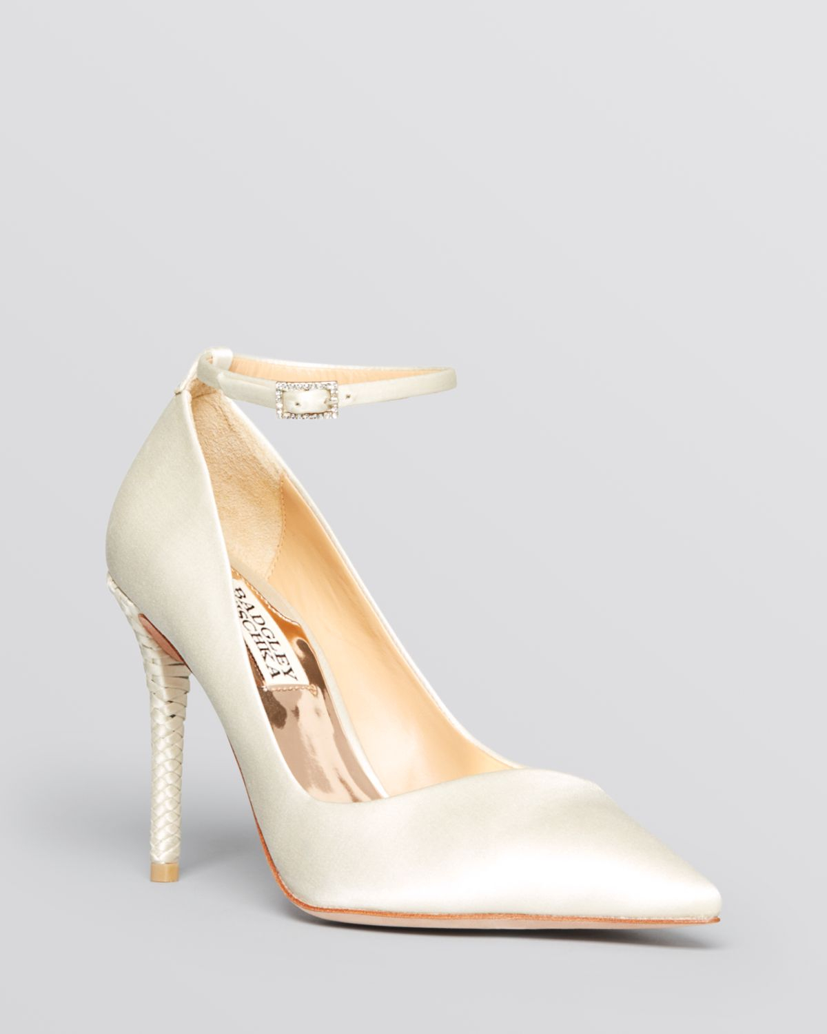 Badgley mischka Pointed Toe Evening Pumps - Livia High Heel in ...
