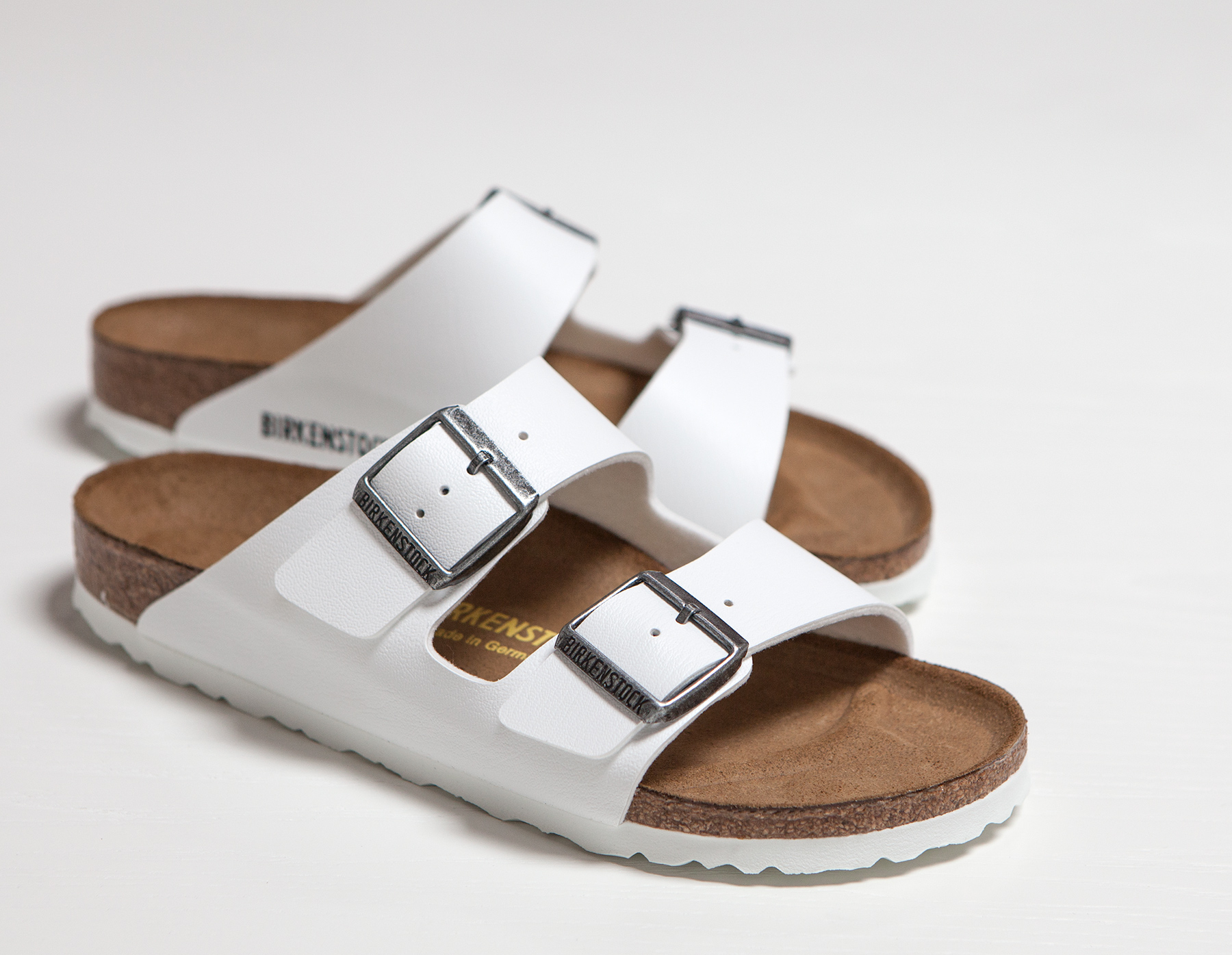 f4dd1fe52502a4 Lyst - James Perse Birkenstock Arizona Sandal - Mens in White for Men
