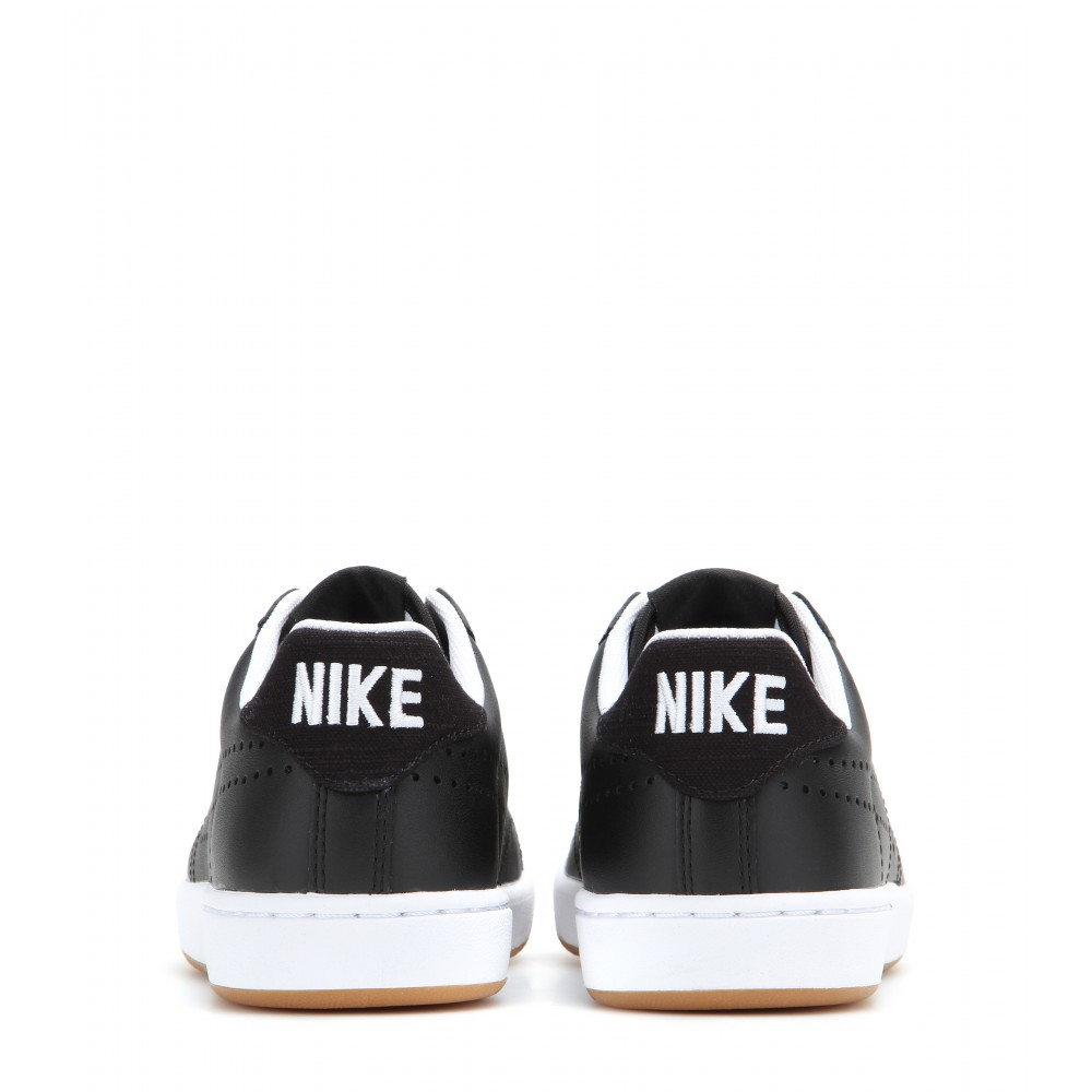 size 40 7696f 744ea ... Lyst - Nike Tennis Classic Ultra Leather Sneakers in Black get cheap  e2a6d 0f2ab Nike Tennis Classic Shoes Womens White Blue N92234 ...