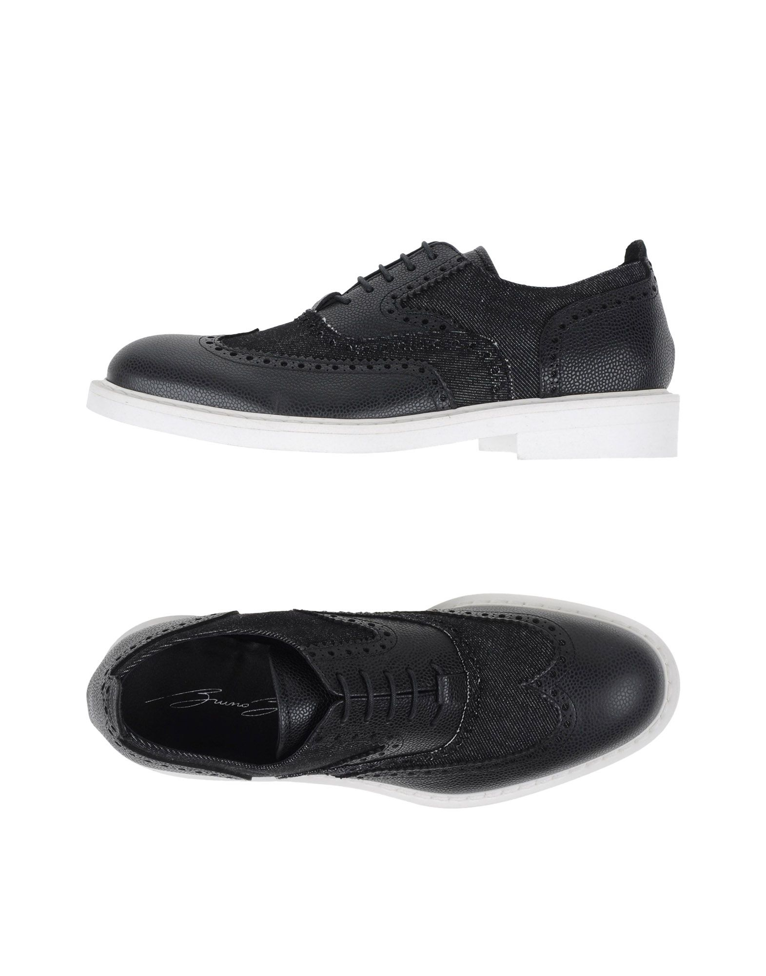 bruno bordese lace up shoes in black for lyst