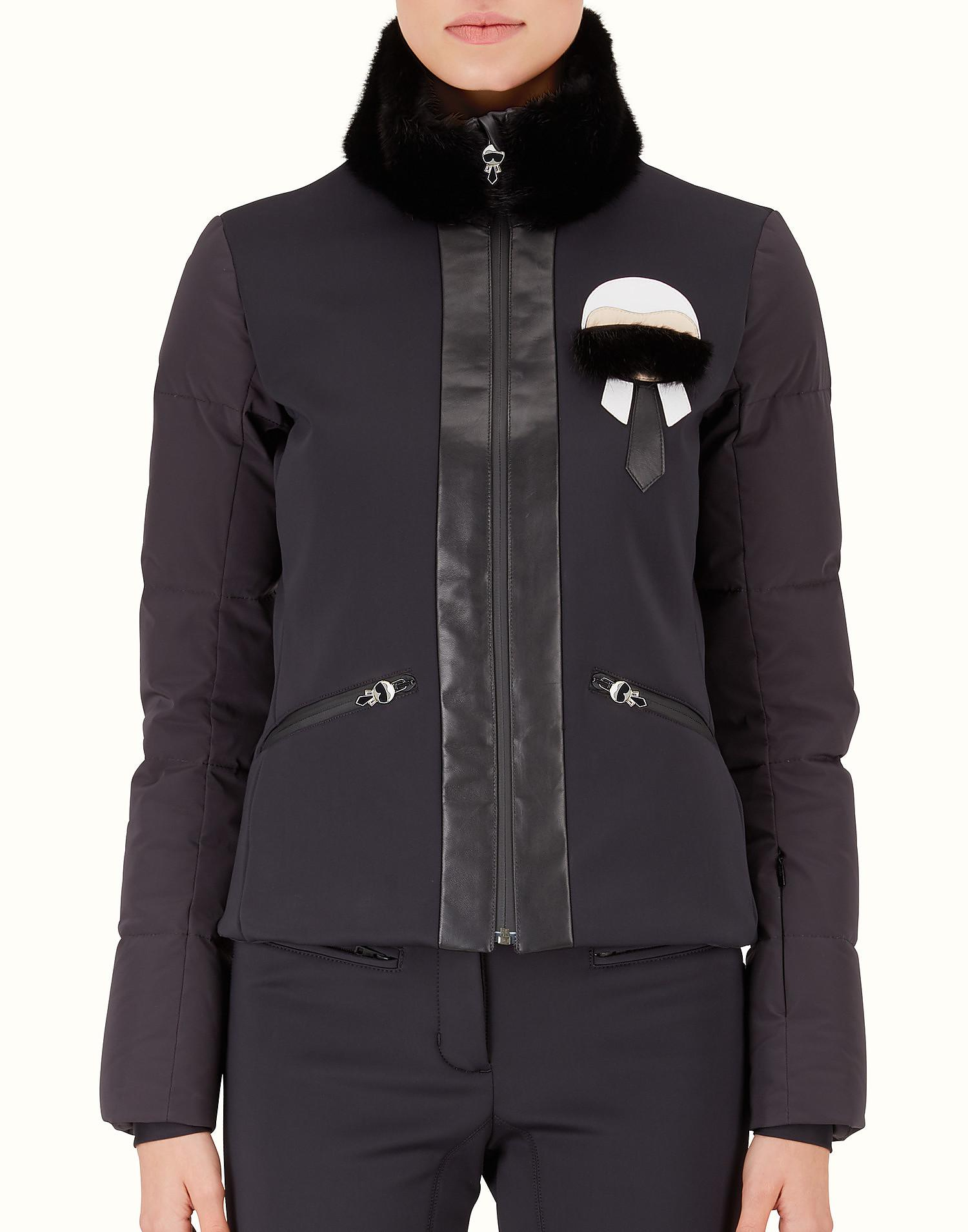 Karlito padded jacket - Red Fendi
