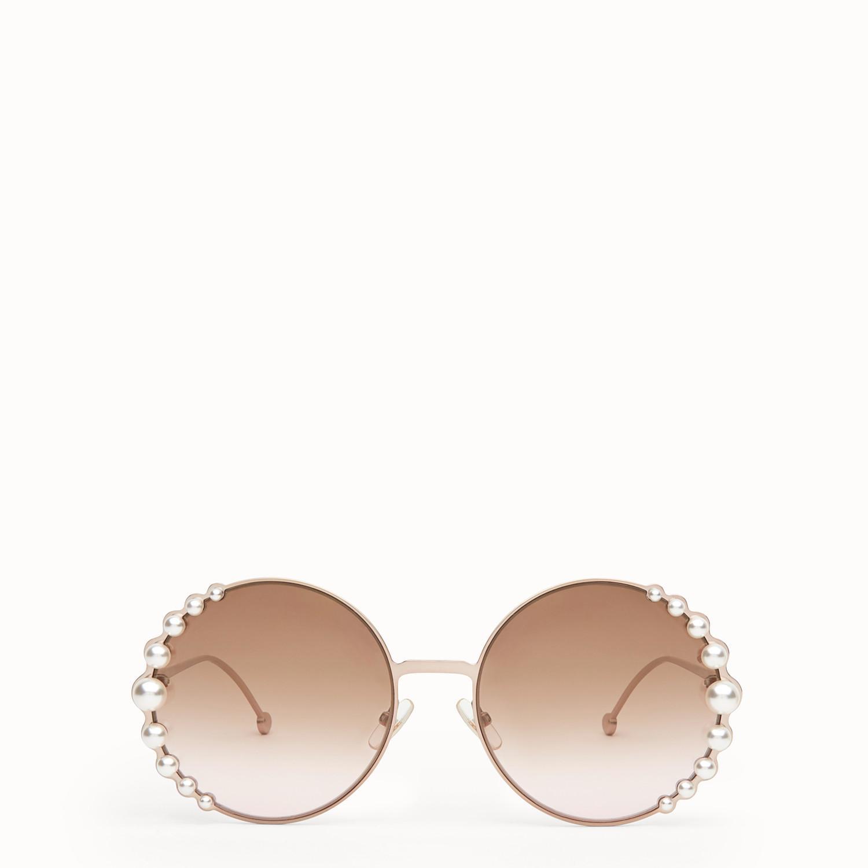 75409a93b14a2 Lyst - Fendi Ribbons   Pearls in Pink