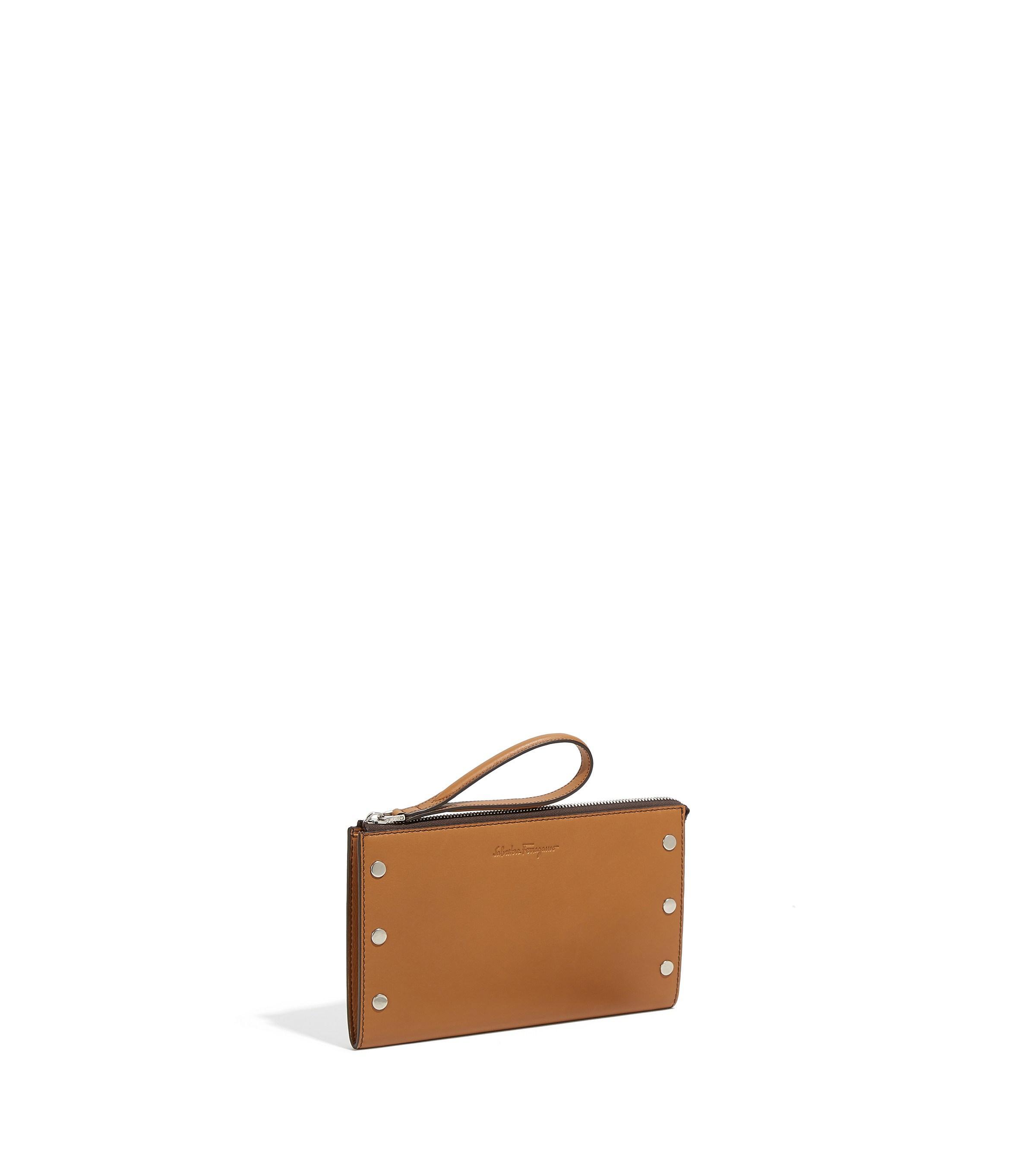 Lyst - Ferragamo Travel Document Holder in Brown for Men db5d324615212