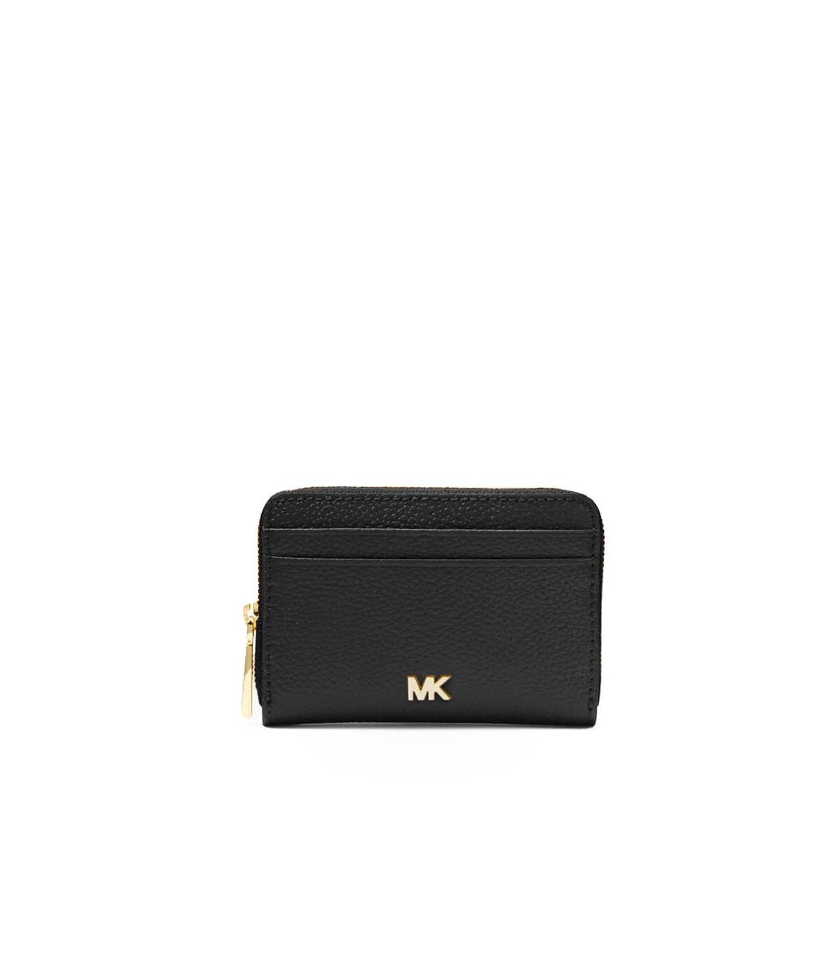97504b118930 Michael Kors Black Leather Wallet in Black - Save 16% - Lyst