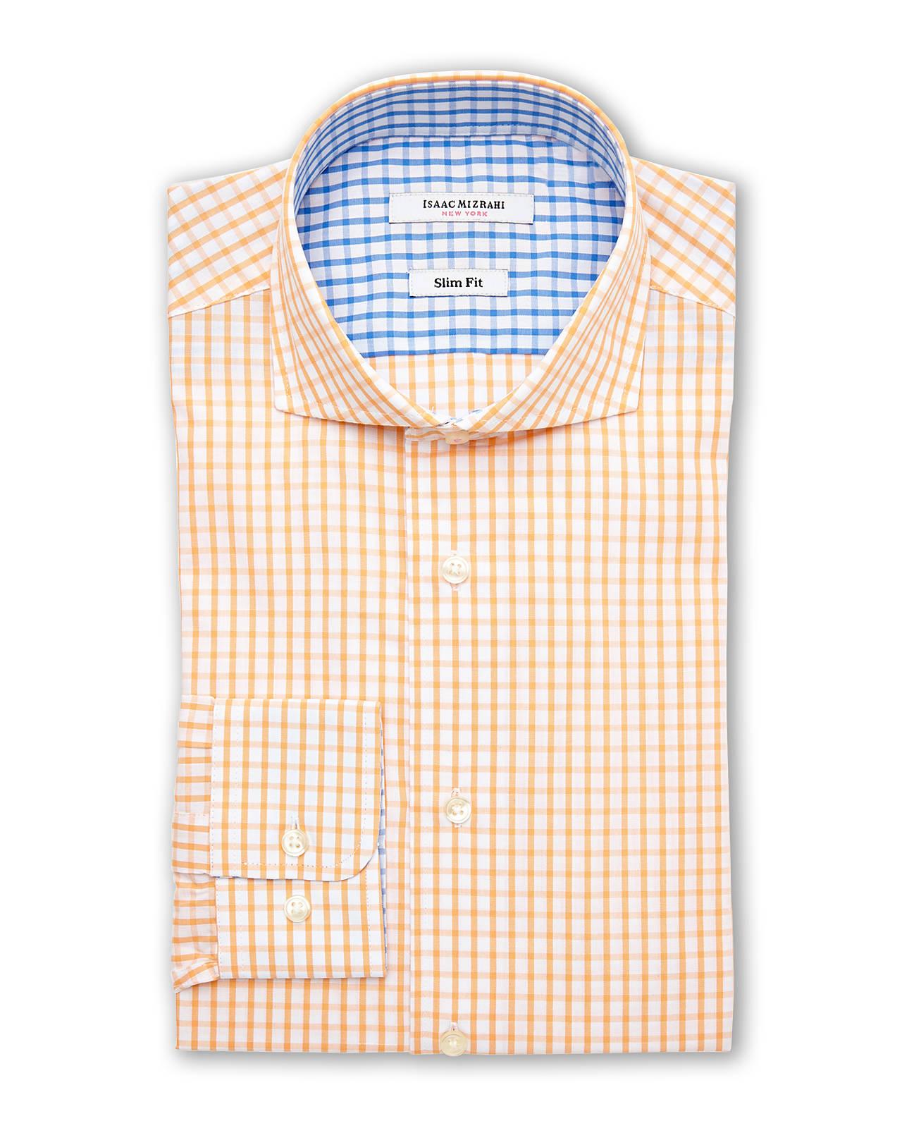 Isaac Mizrahi Mens Dress Shirts