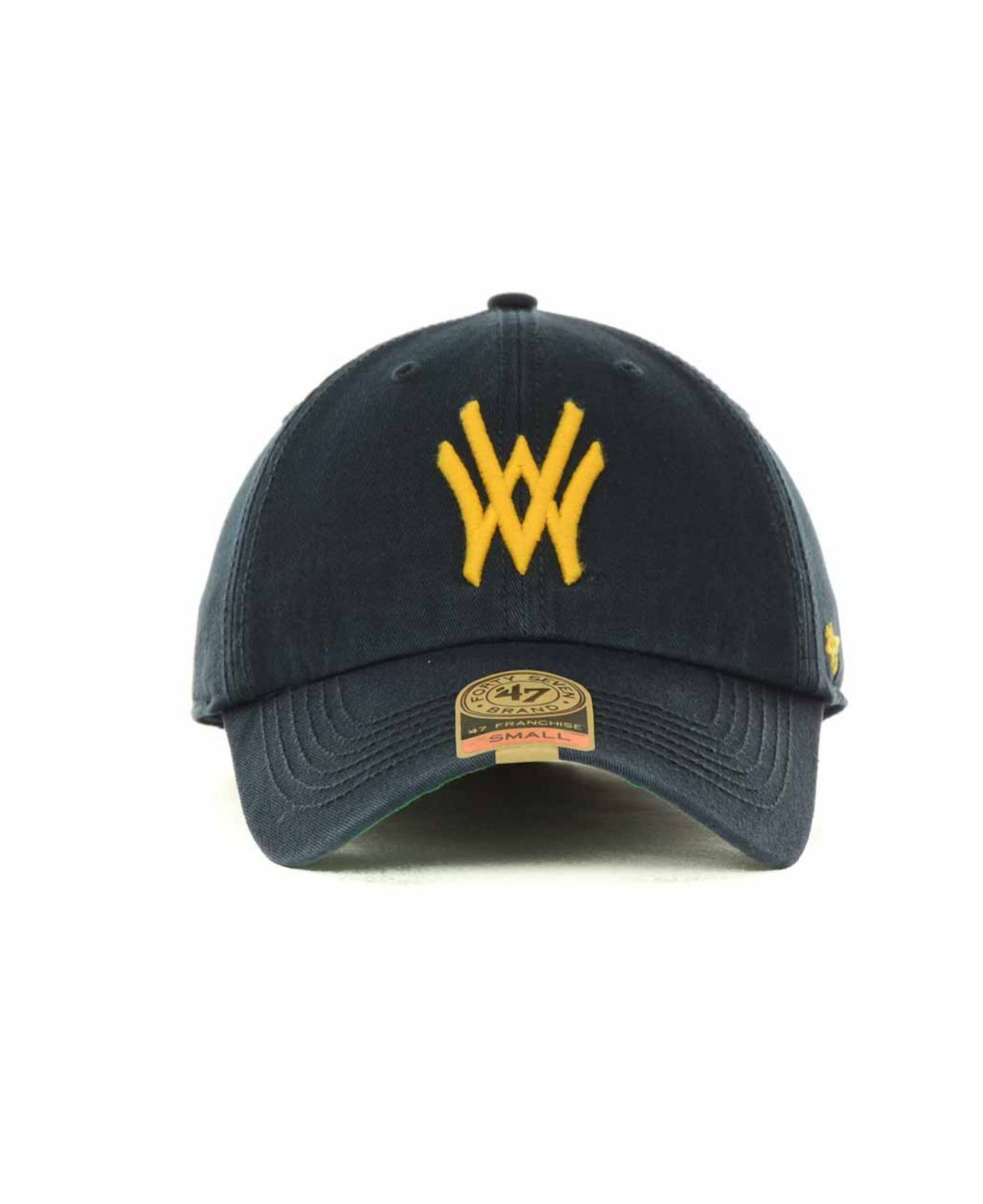 5483b719397 Lyst - 47 Brand West Virginia Mountaineers Franchise Cap in Blue for Men