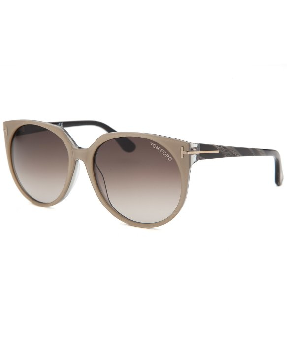 tom ford women 39 s agatha round beige sunglasses in natural lyst. Cars Review. Best American Auto & Cars Review