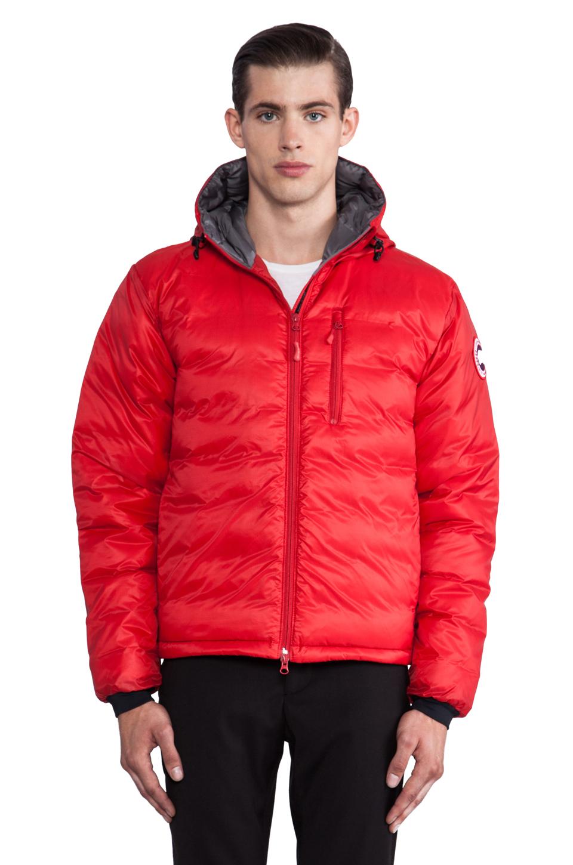 Canada Goose trillium parka replica 2016 - Canada goose Lodge Hoody in Red for Men | Lyst
