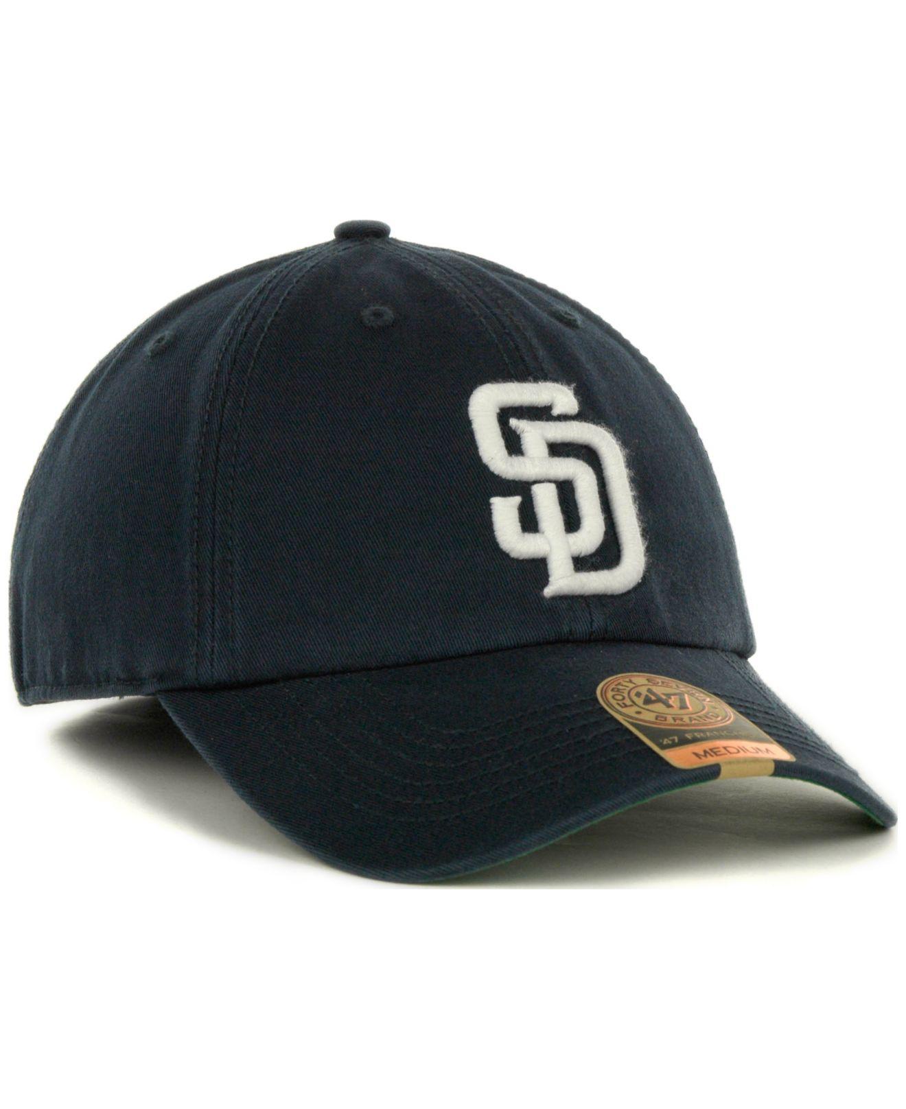 4d56c8390c8e8 ... sweden 47 brand san diego padres franchise cap in blue for men lyst  62322 59505