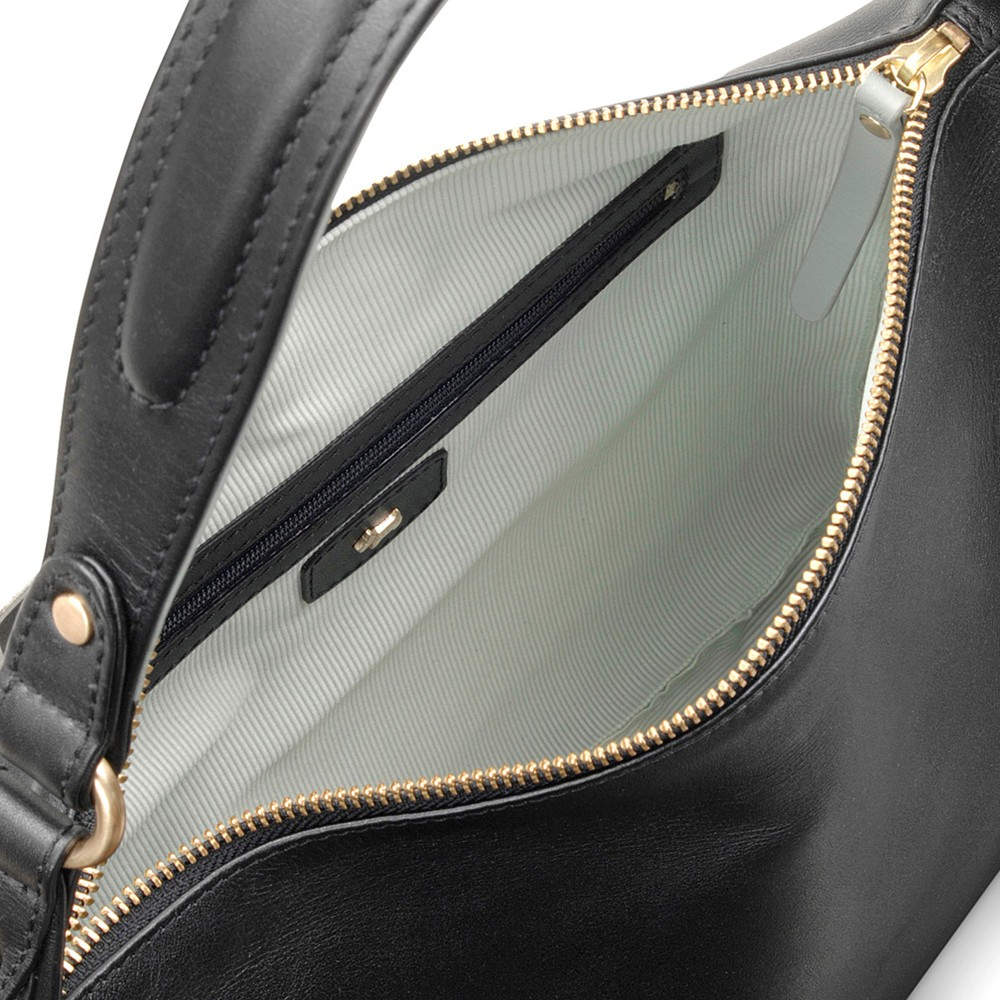 Radley Frith Street Medium Leather Hobo Bag in Black - Lyst c7221ee12044d