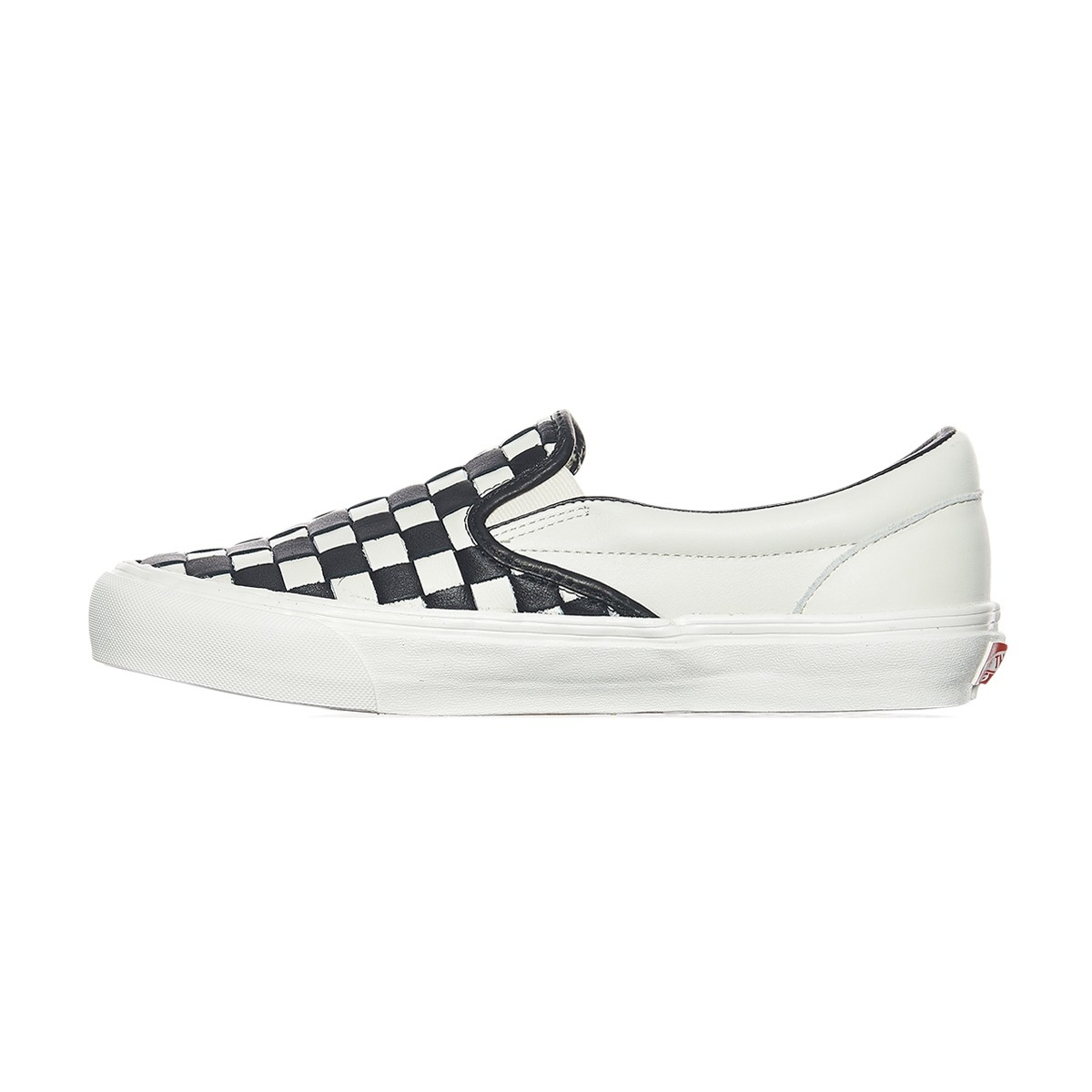 acf905ee8c Lyst - Vans Og Classic Slip-on Lx 50th Checkerboard Anniversary Sneakers in  Black for Men