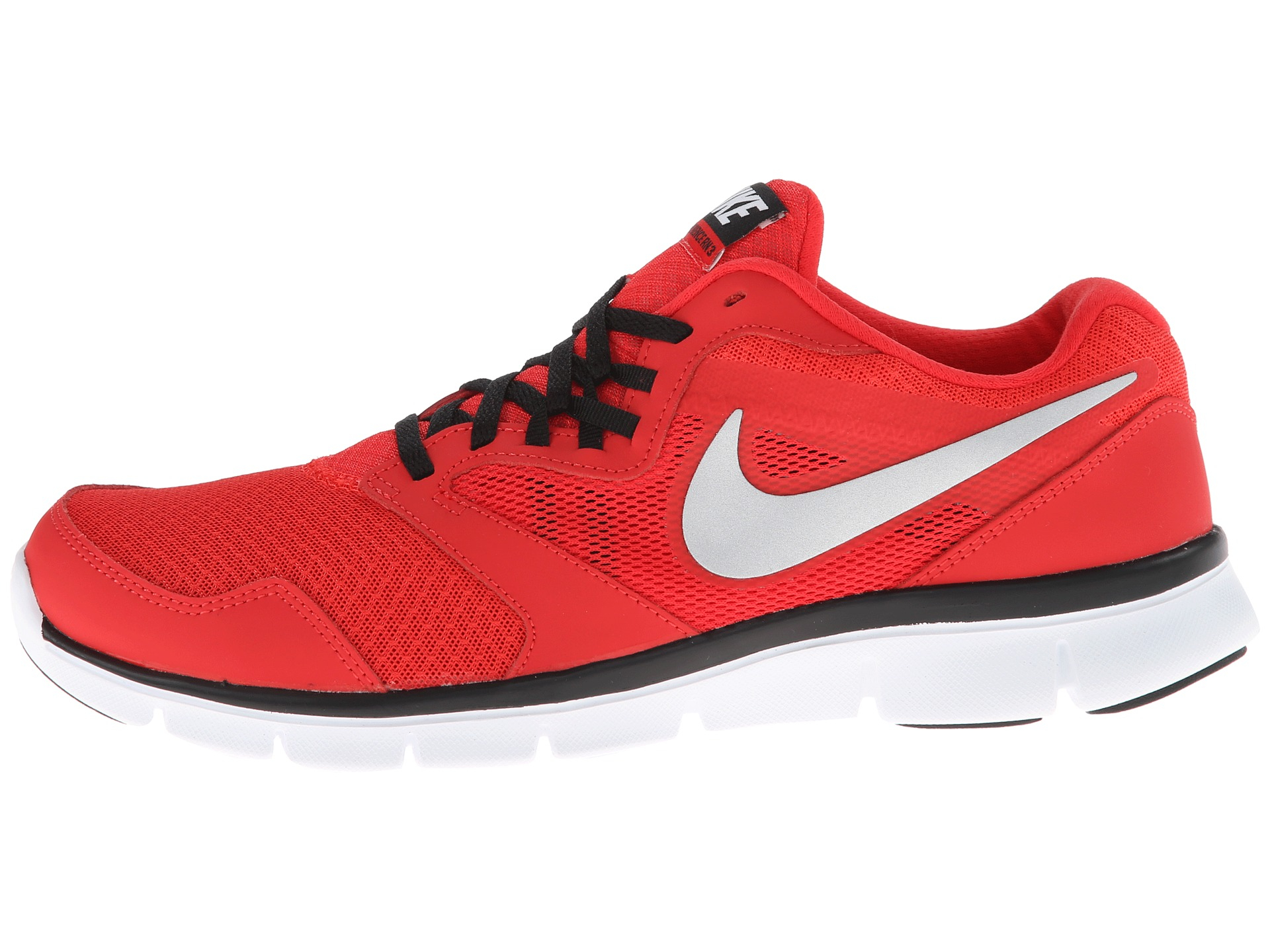 b7eacf3265d92 Lyst - Nike Flex Experience Run 3 in Red for Men