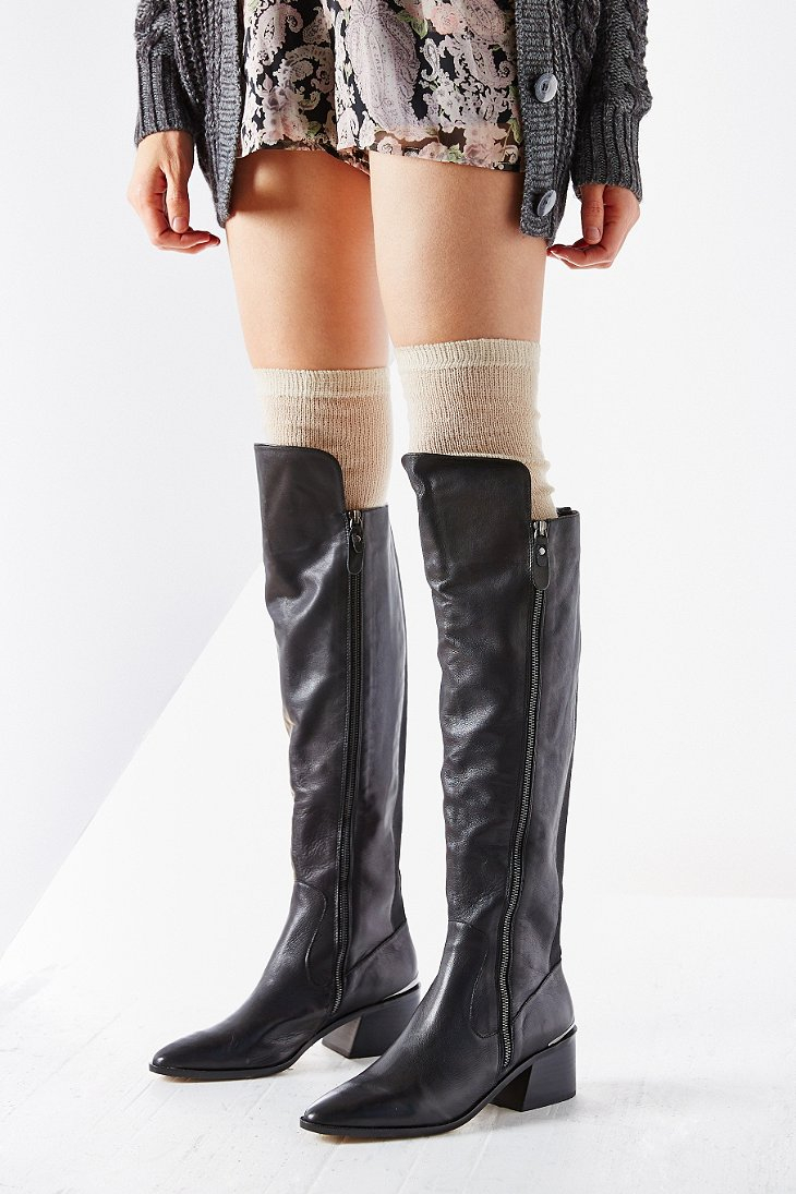 e424317e7b9 Dolce Vita Cinco Over-The-Knee Boot in Black - Lyst