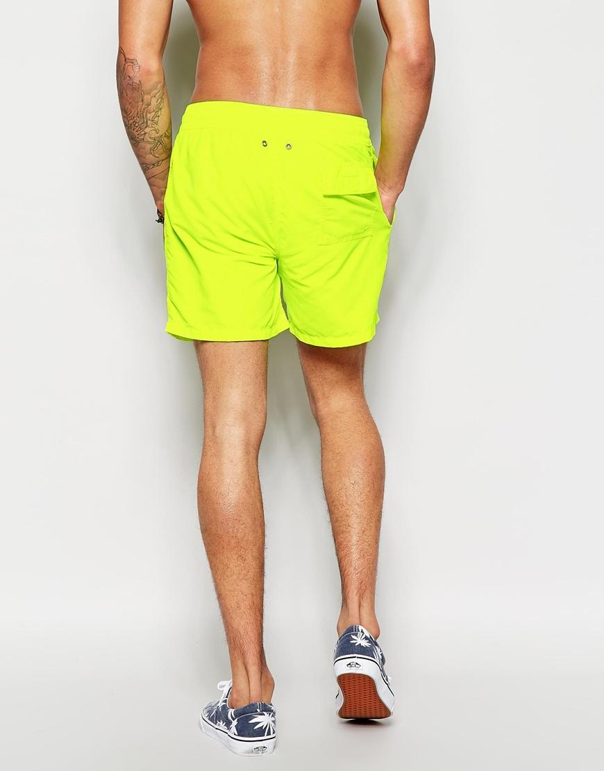 fed32bab ralph lauren yellow hawaiian swim shorts | Vapaa Pudotus