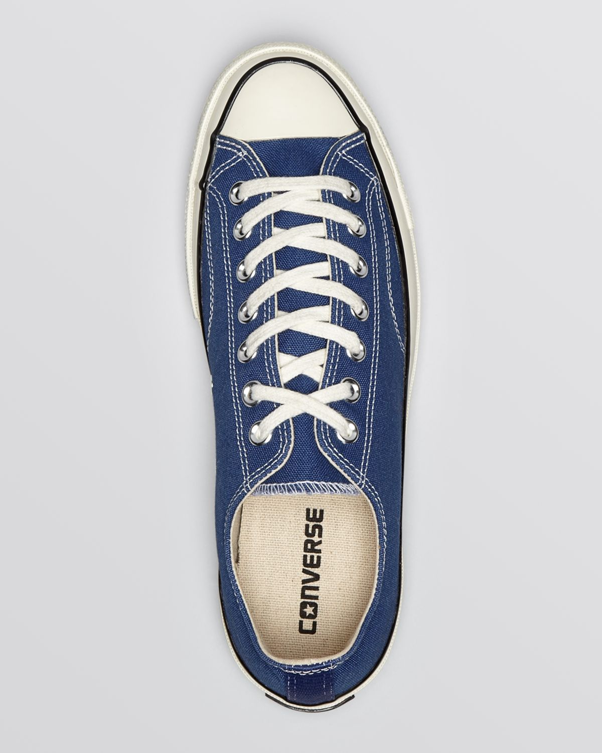 510d33003859 Lyst - Converse Chuck Taylor All Star  70 Low Top Sneakers in Blue ...