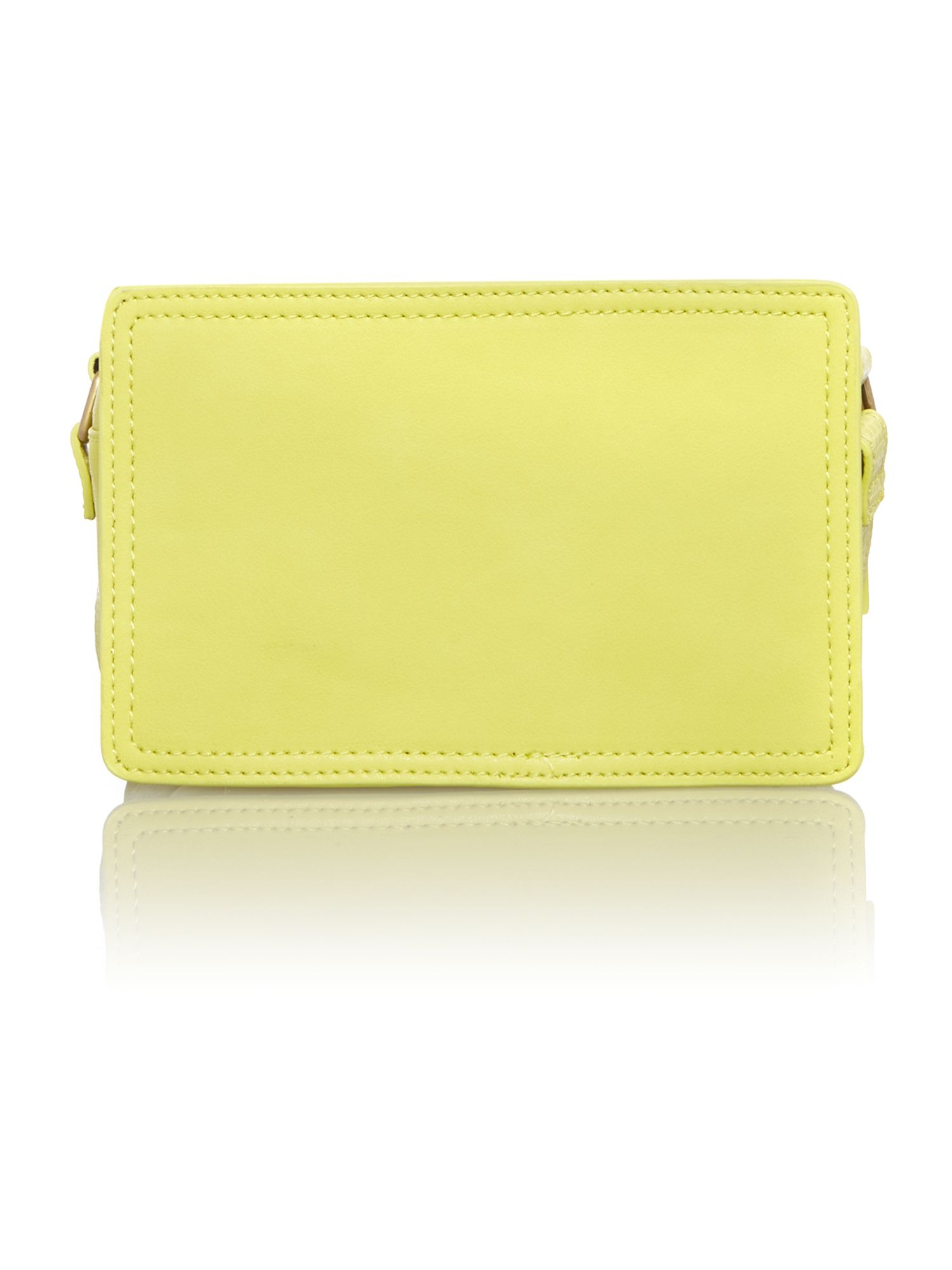 nica venice yellow crossbody bag in pink lyst