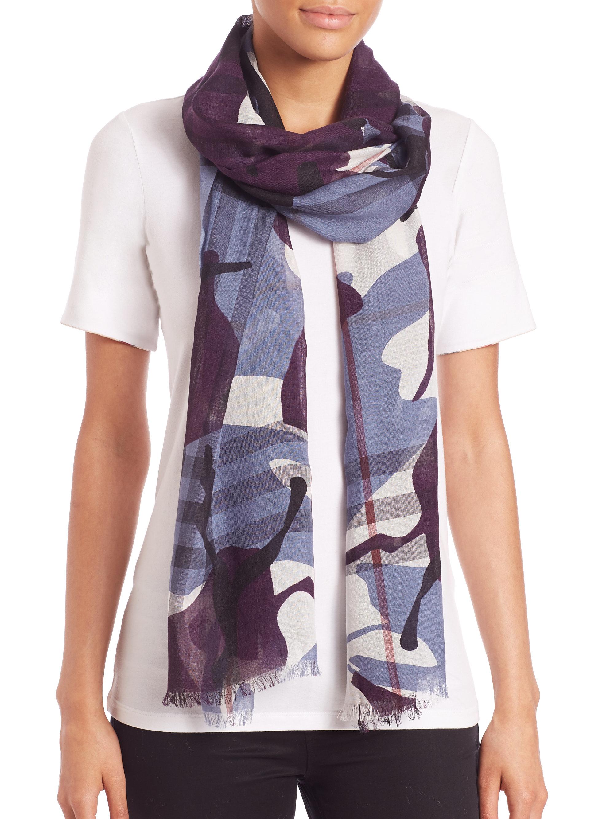 normal modal kenzo lyst ferrari franco accessories blue scarf in gallery eyes product silk