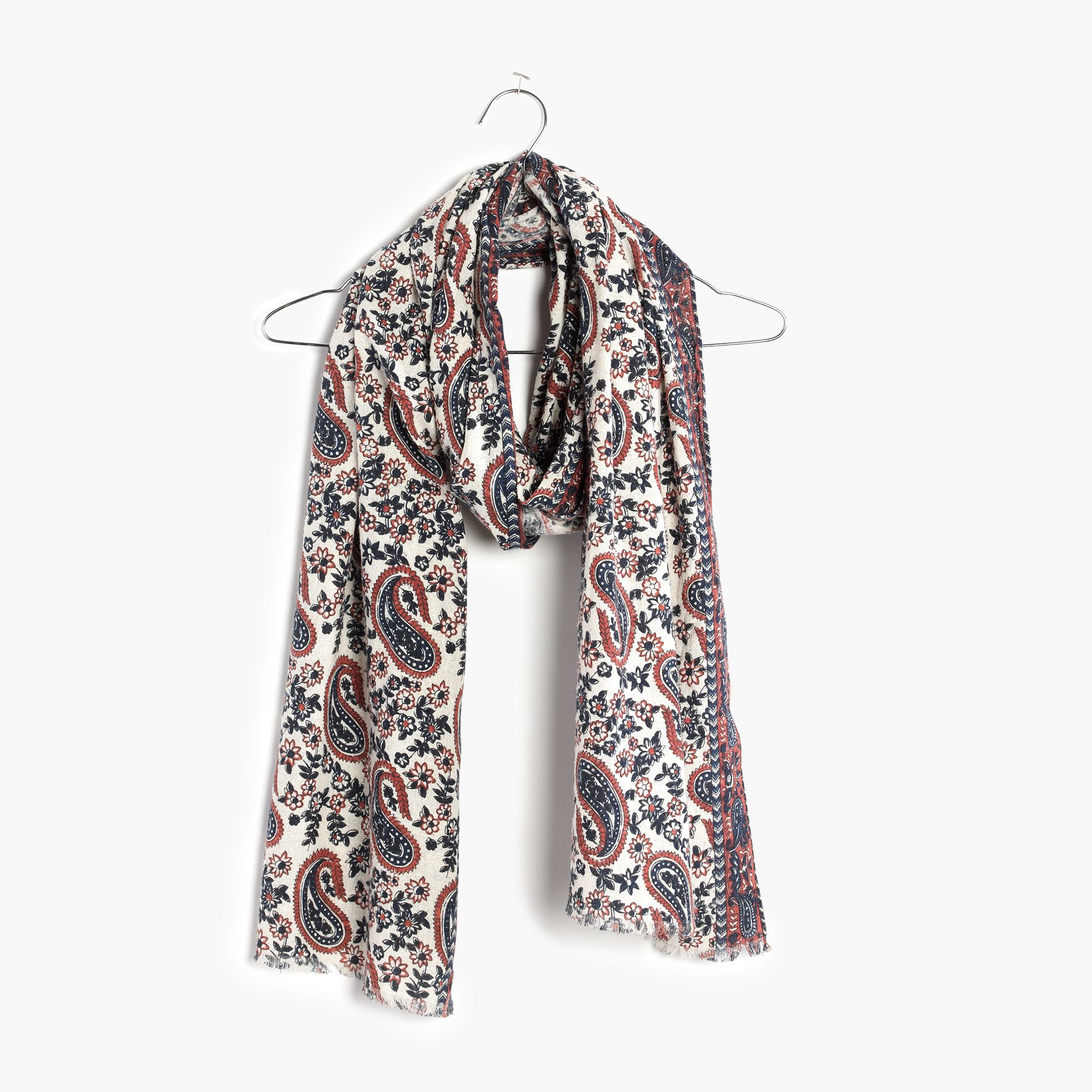 madewell flora paisley scarf lyst