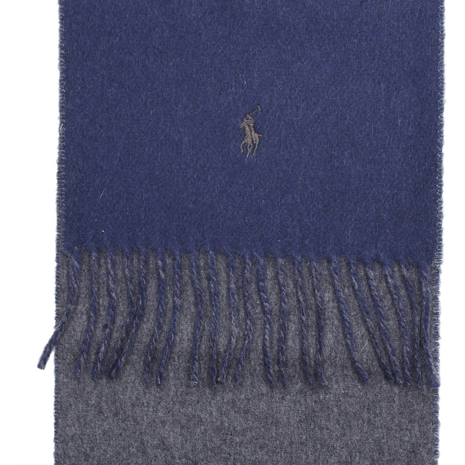 ralph scarf in blue for