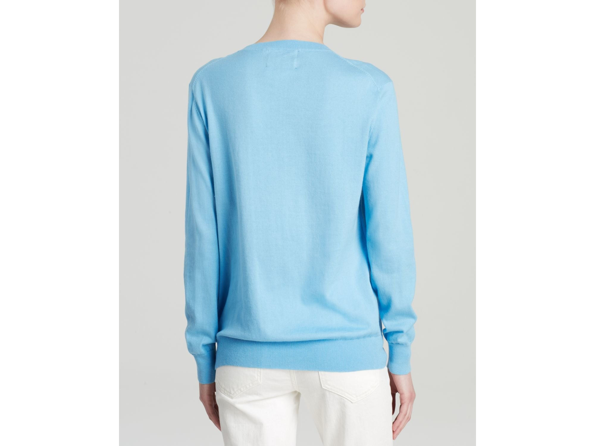 Markus lupfer Sweater - Ice Cream Sequin in Blue | Lyst
