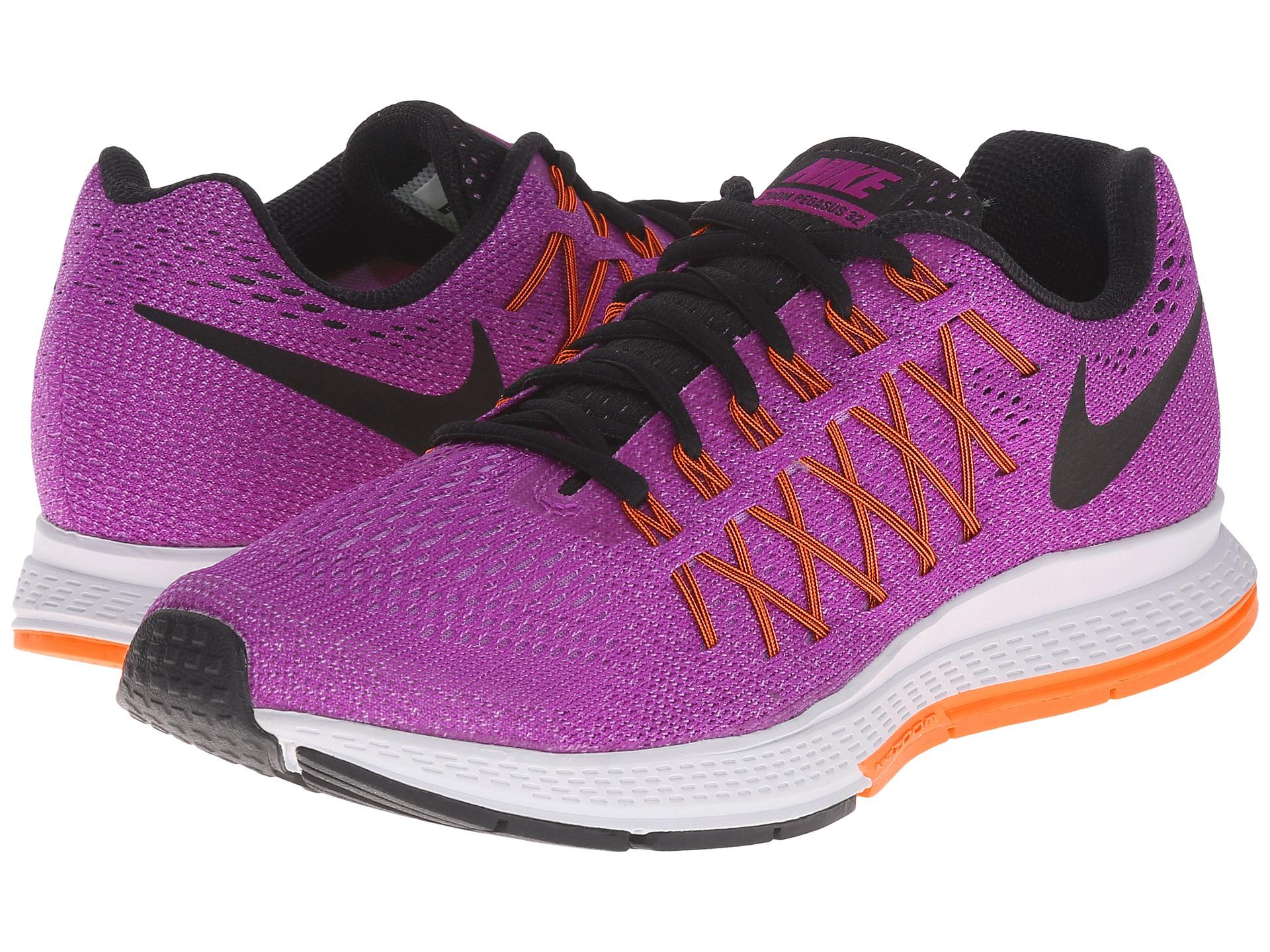 new product 7f0eb 58aae ... Lyst - Nike Air Zoom Pegasus 32 in Purple nike zoom pegasus 32 womens  black ...