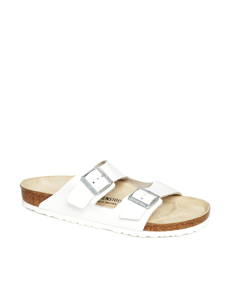 83d36d181f8 Lyst - Birkenstock Arizona Sandals in White for Men