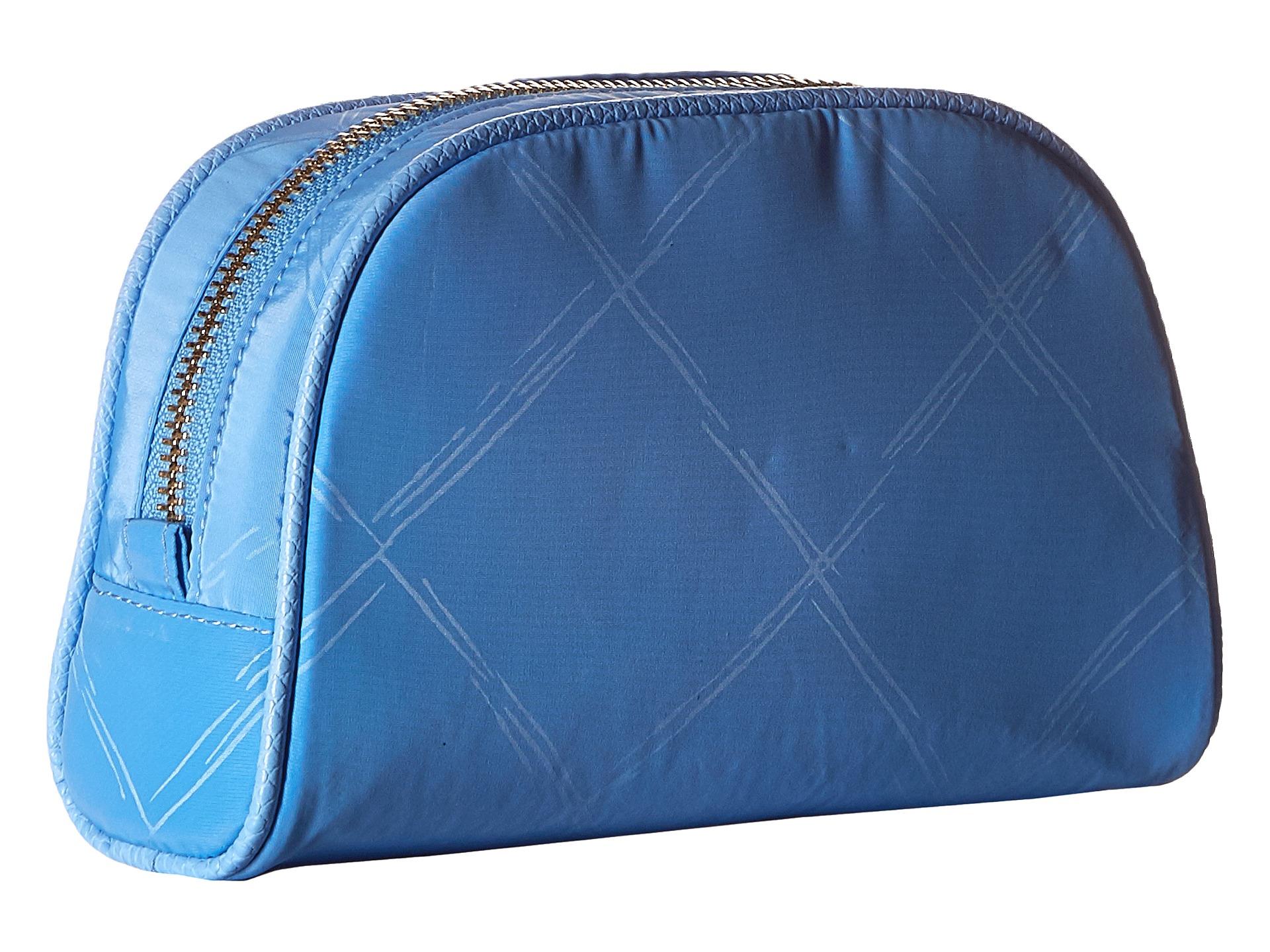 cb81e9456db0 Lyst - Vera Bradley Preppy Poly Small Cosmetic in Blue