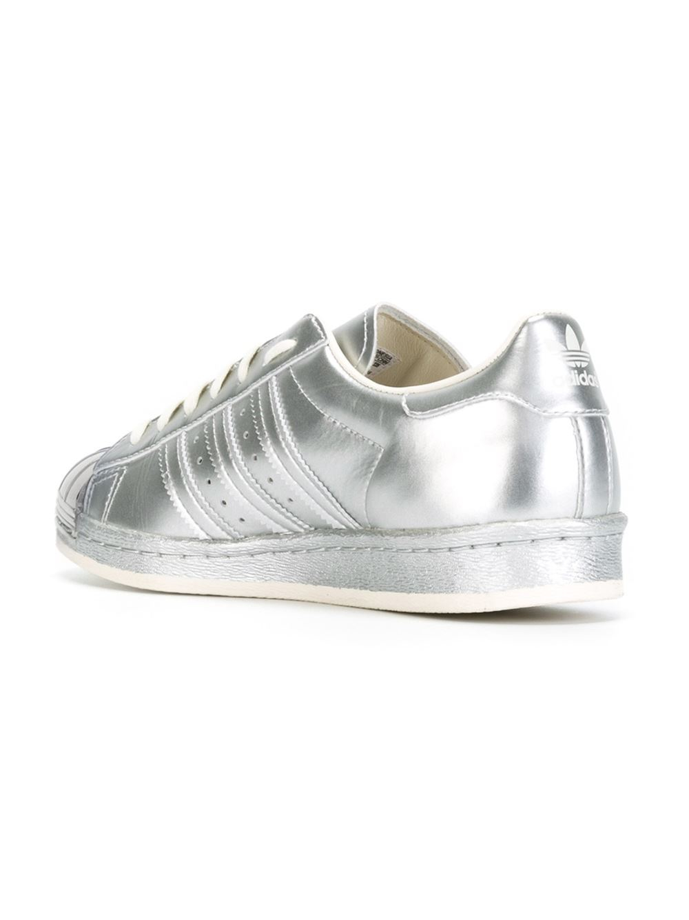 lyst adidas originals 39 superstar 80s 39 sneakers in metallic. Black Bedroom Furniture Sets. Home Design Ideas