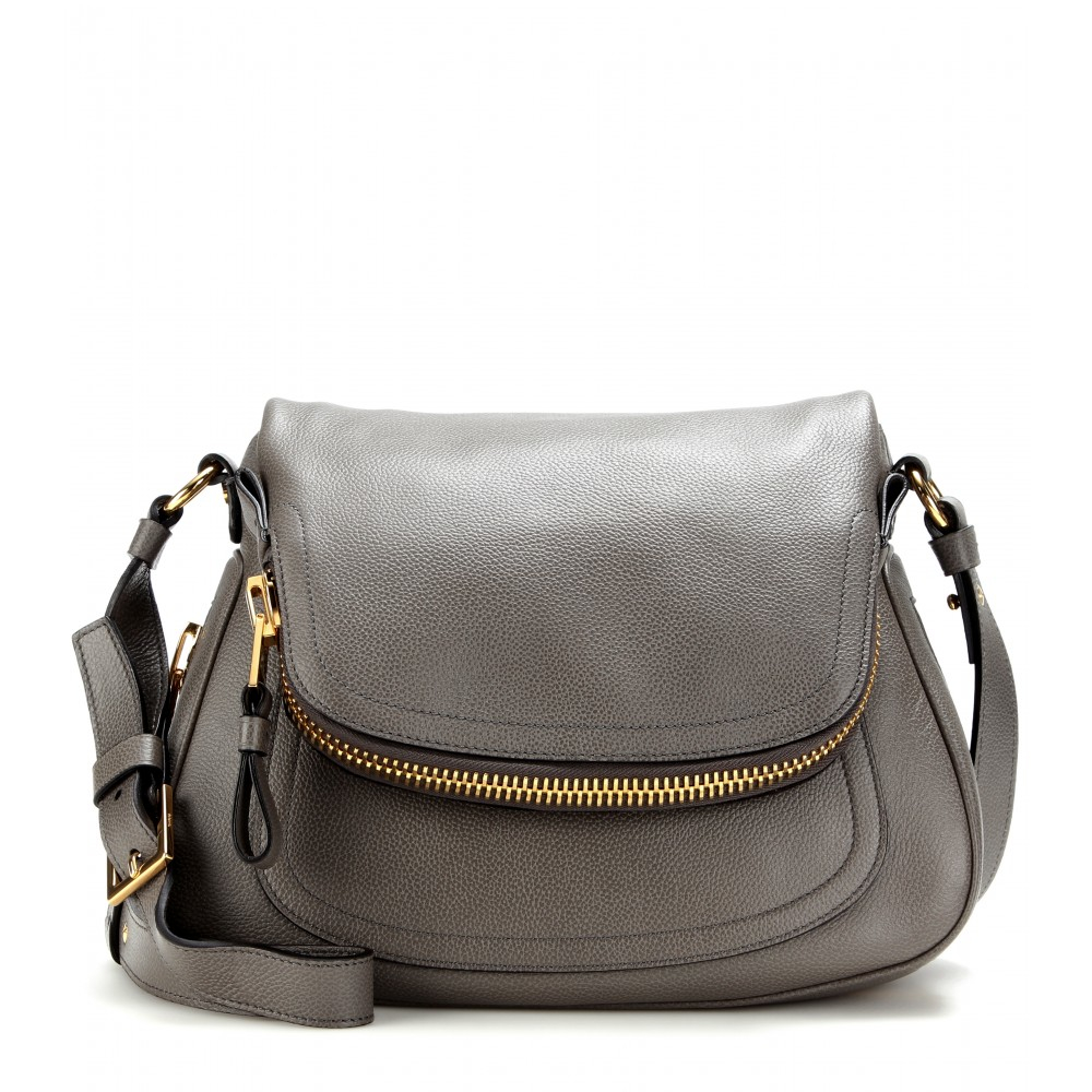Lyst Tom Ford Jennifer Medium Shoulder Bag In Gray