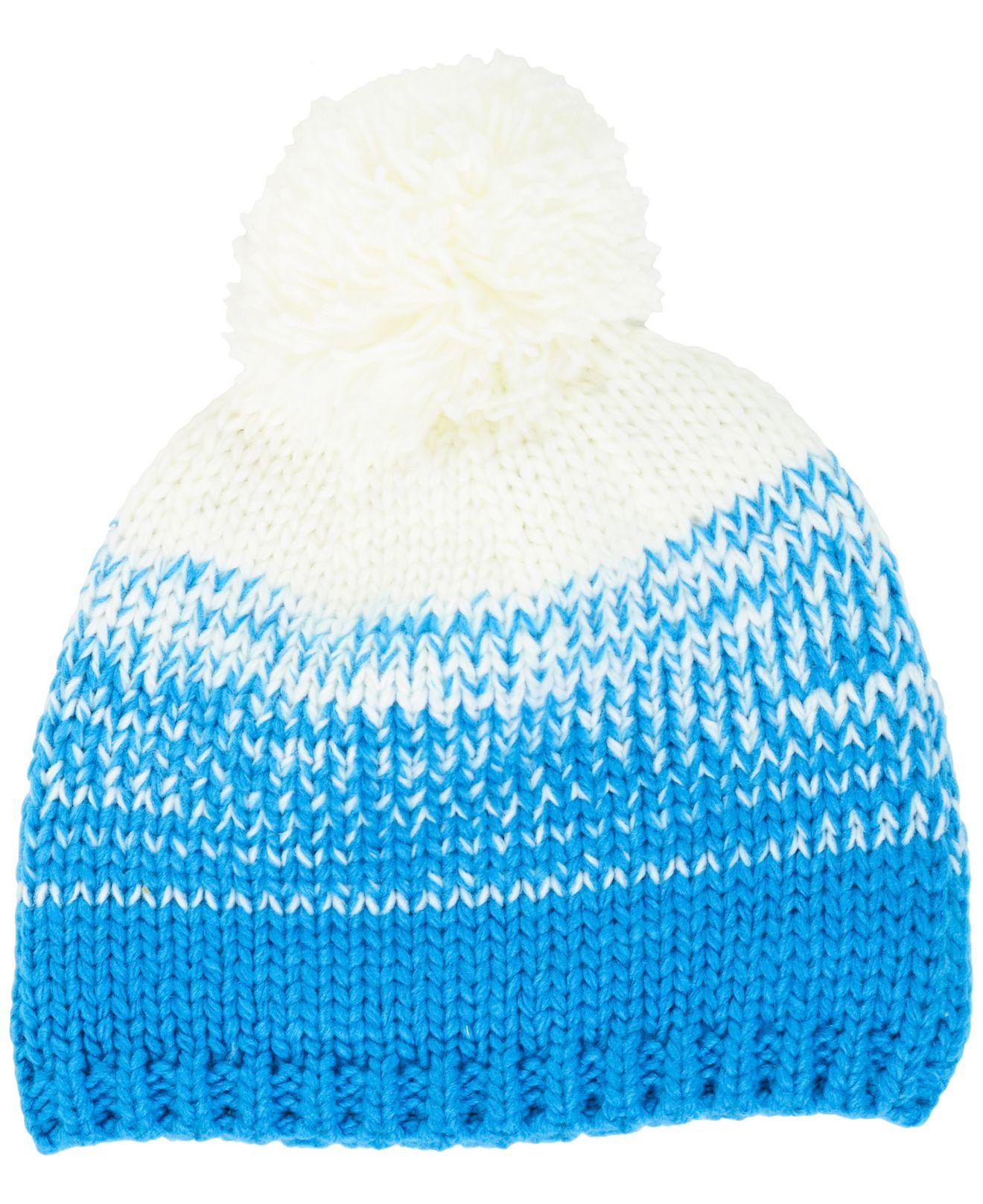 Lyst - KTZ Women s Carolina Panthers Polar Dust Knit Hat in White 4a5c25ce40