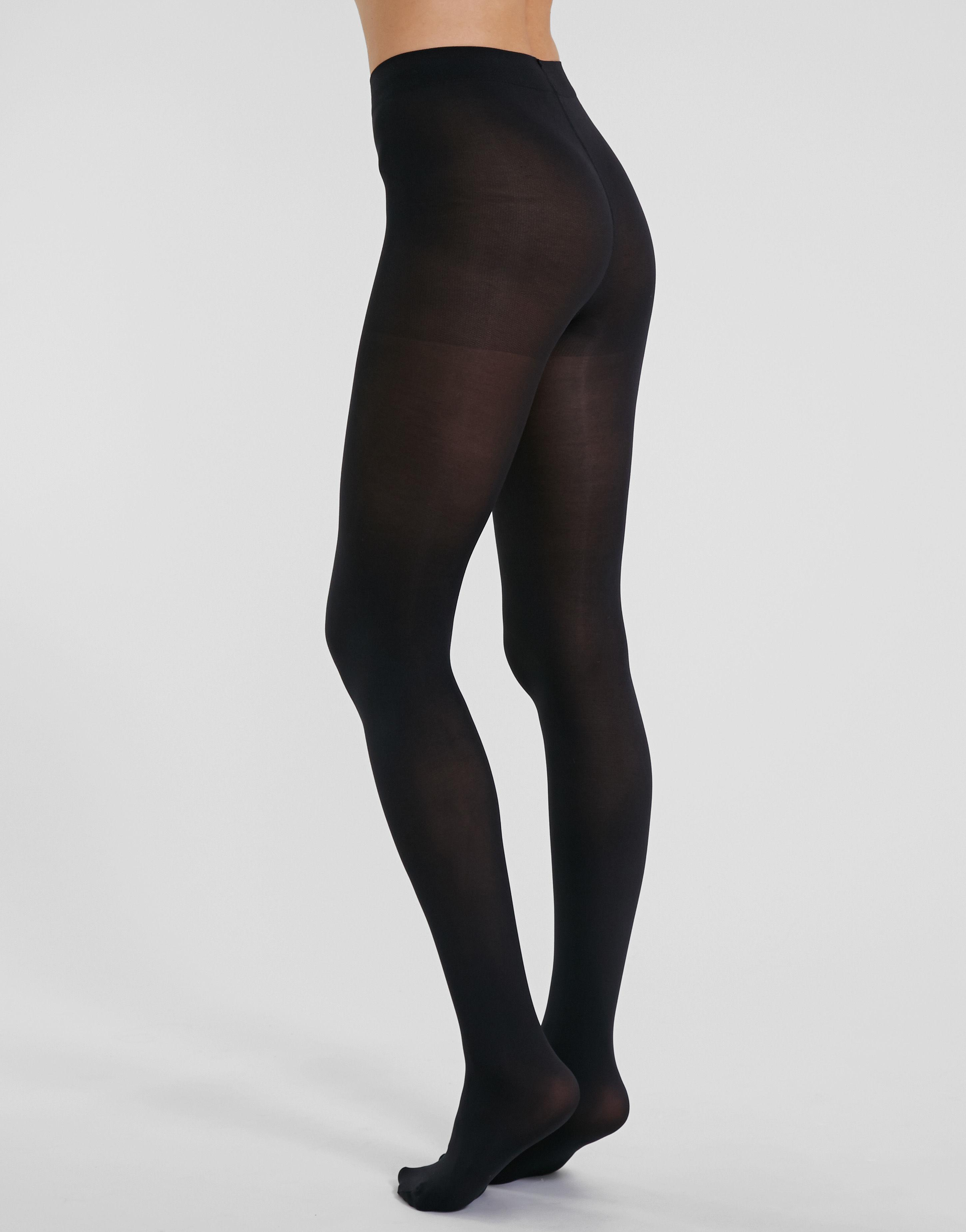 c57881c14c291 Charnos 60 Denier Opaque Tights in Black - Lyst