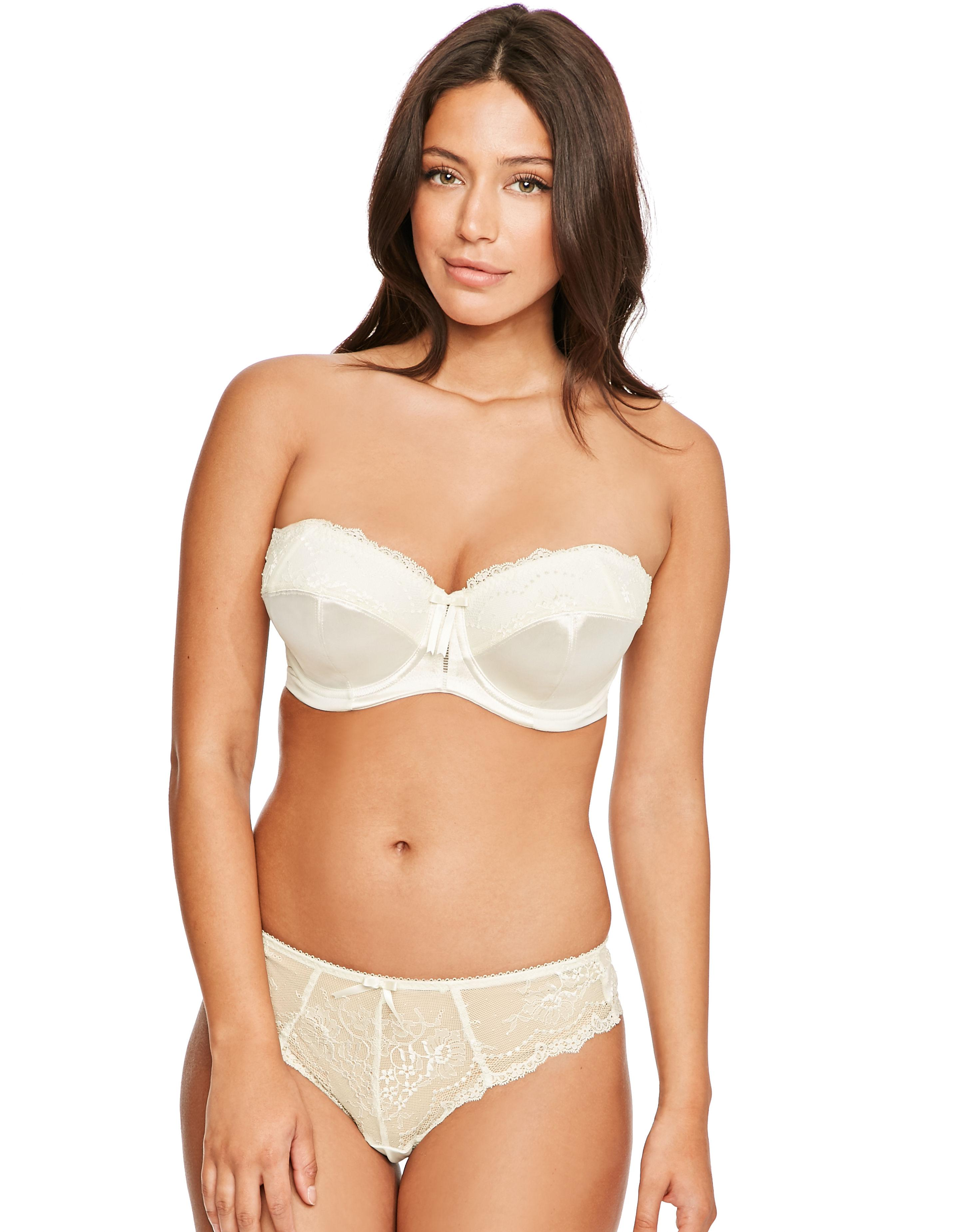 49406207a269e Elomi Maria Underwired Strapless Bra in Natural - Lyst
