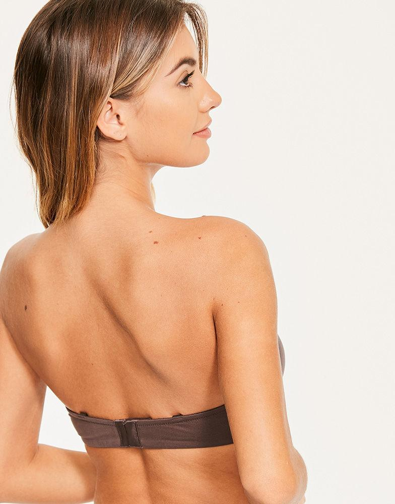 bc311fdc7f775 Figleaves - Multicolor Smoothing Strapless Balcony Bra A-h Cup - Lyst. View  fullscreen