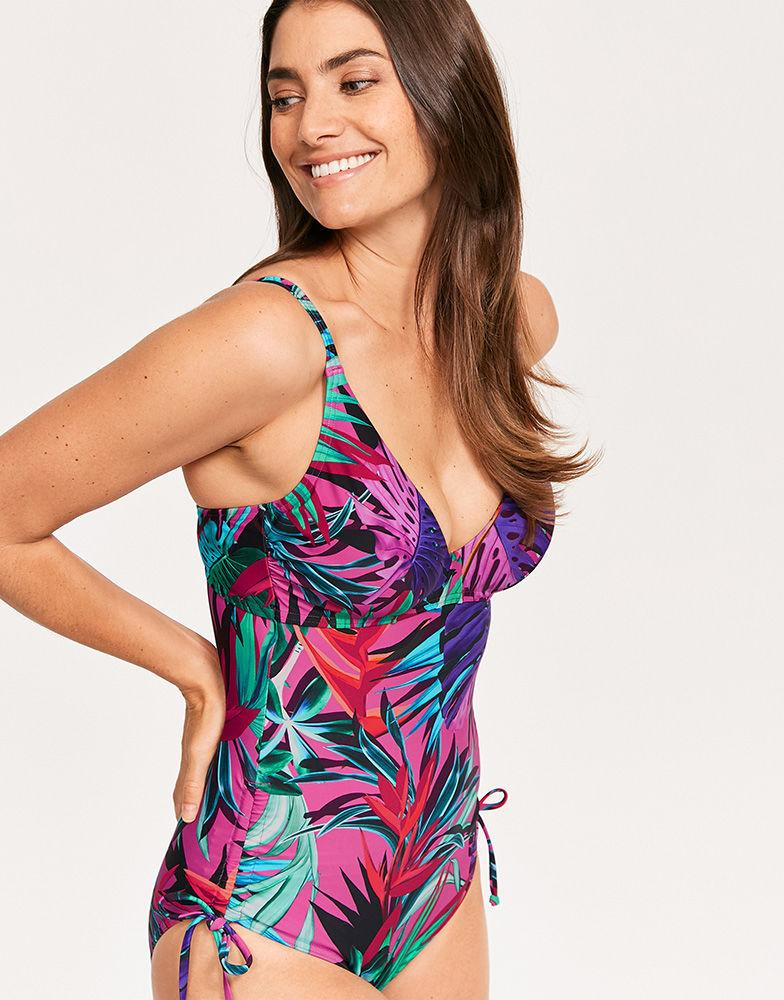 b374b4d27a89e Figleaves. Women's Bahama Underwired Non Padded Shaping Swimsuit