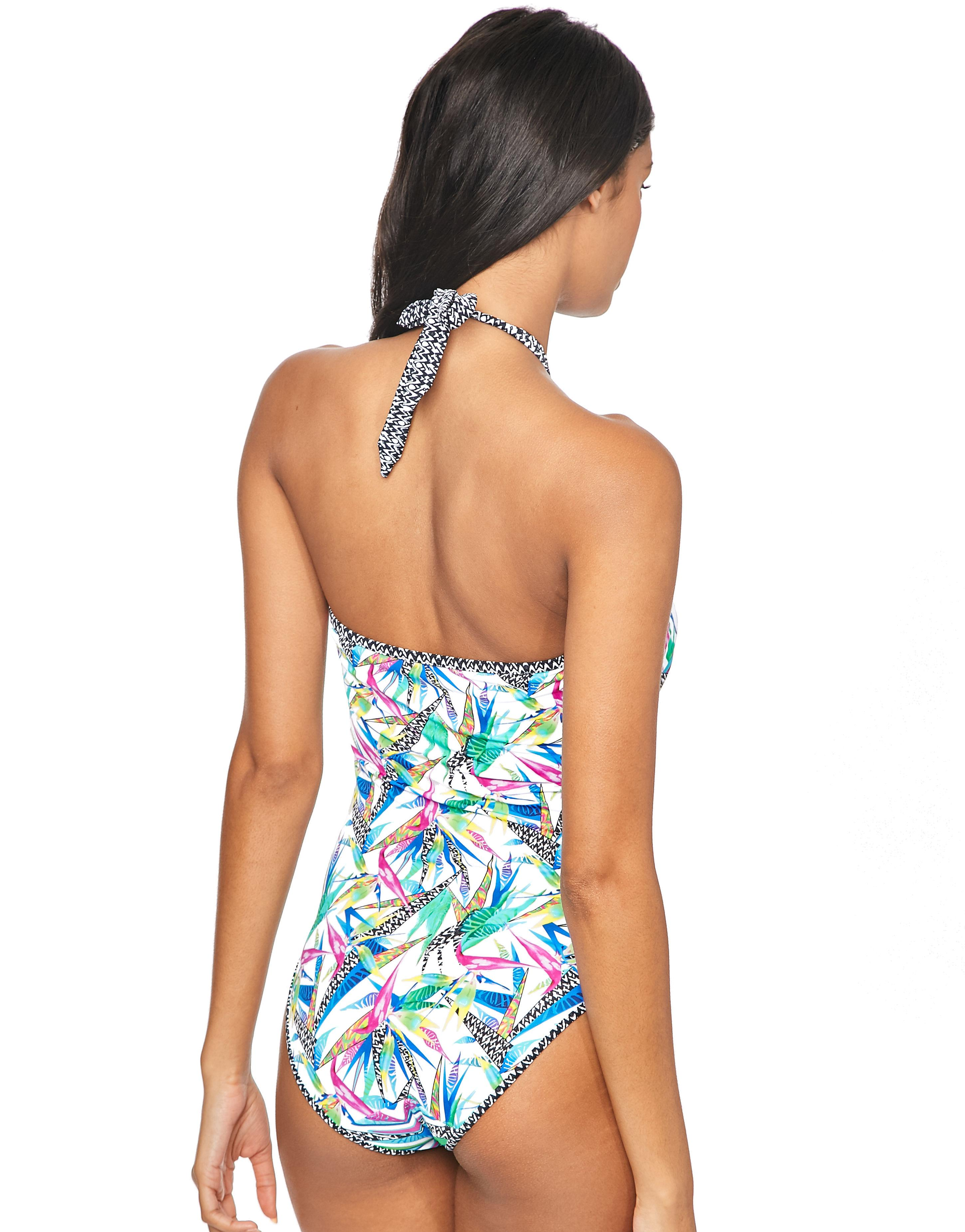 1cd4c7c882903 Freya Tropicool Placement Swimsuit in Blue - Lyst