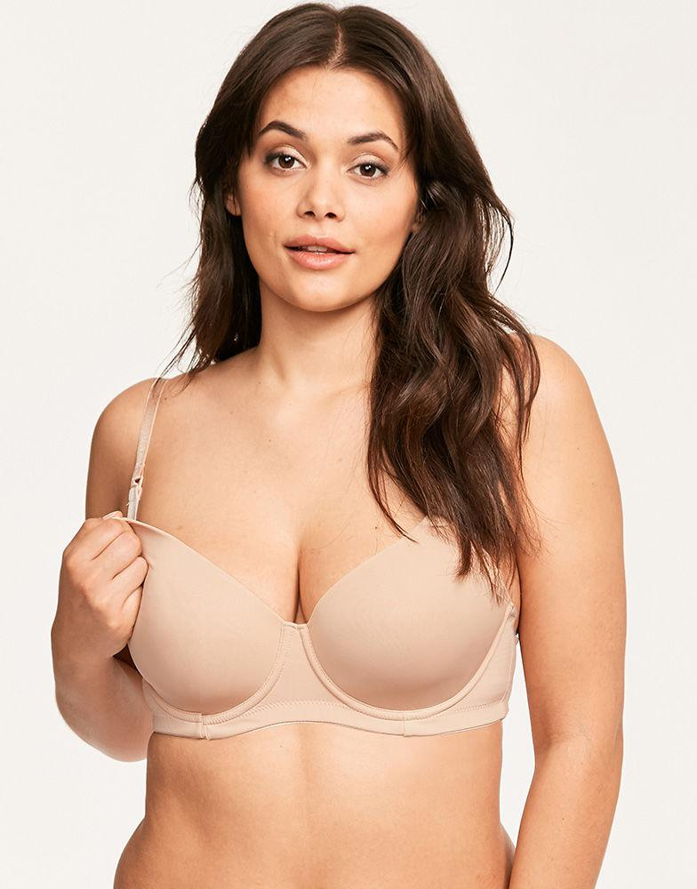 cce565e46ba0c Hotmilk Forever Yours Flexi Wire Multiway Nursing Bra in Natural - Lyst