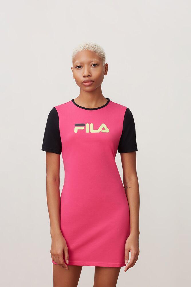 842dbf9a0dd63 Fila - Pink Roslyn Dress - Lyst. View fullscreen