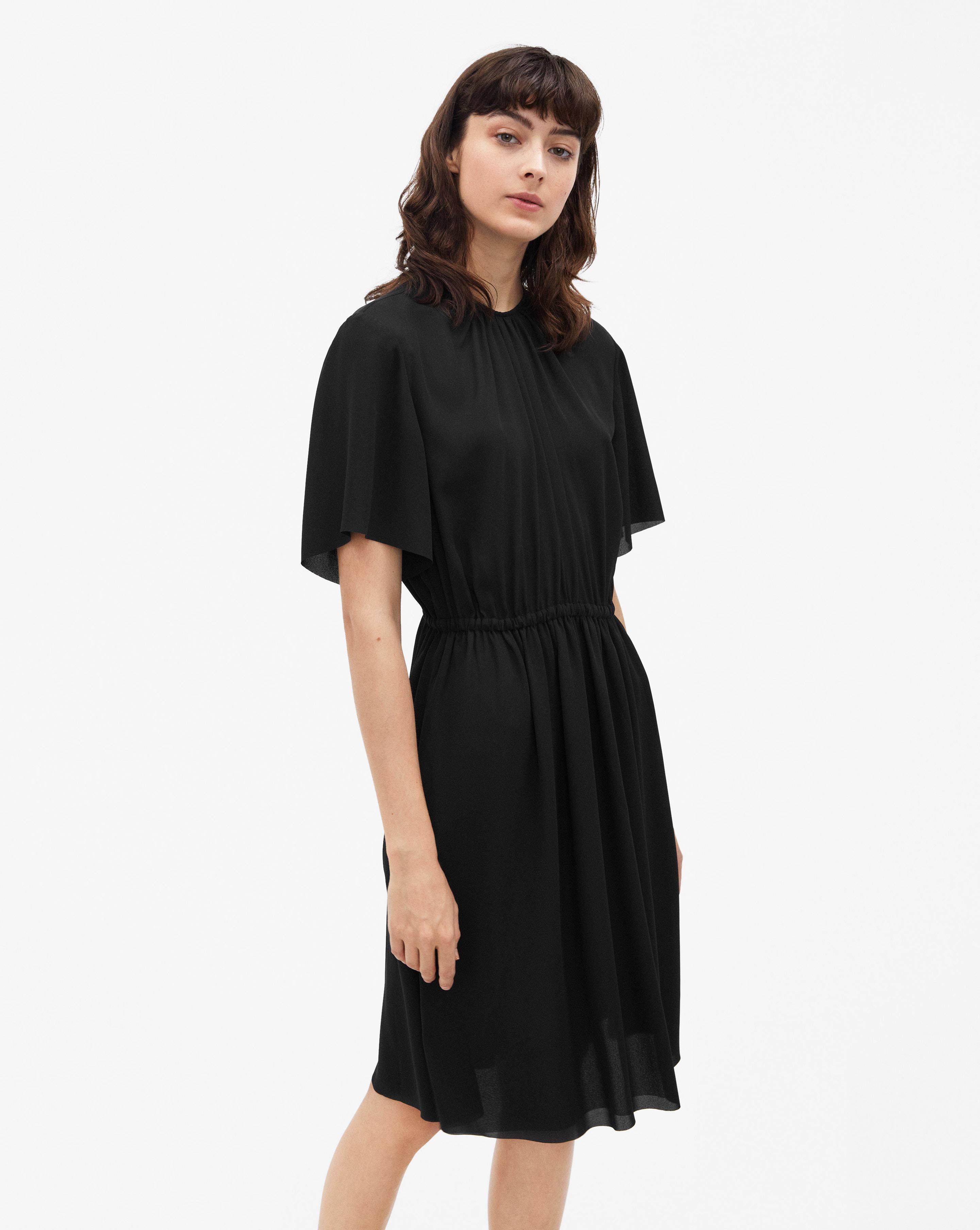 filippa k crepe tie dress