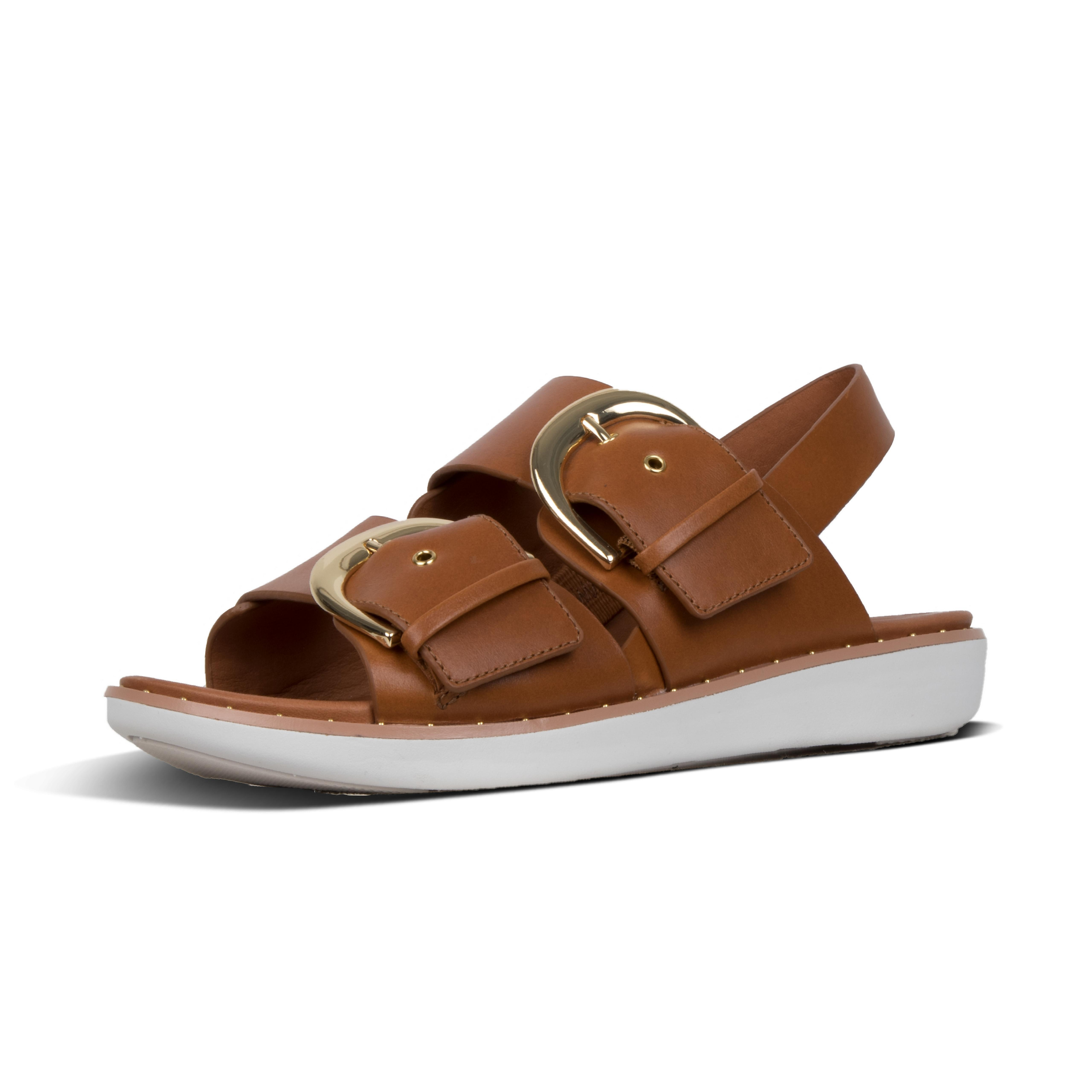 f3b66f141e9 Lyst - Fitflop Buckleup in Brown