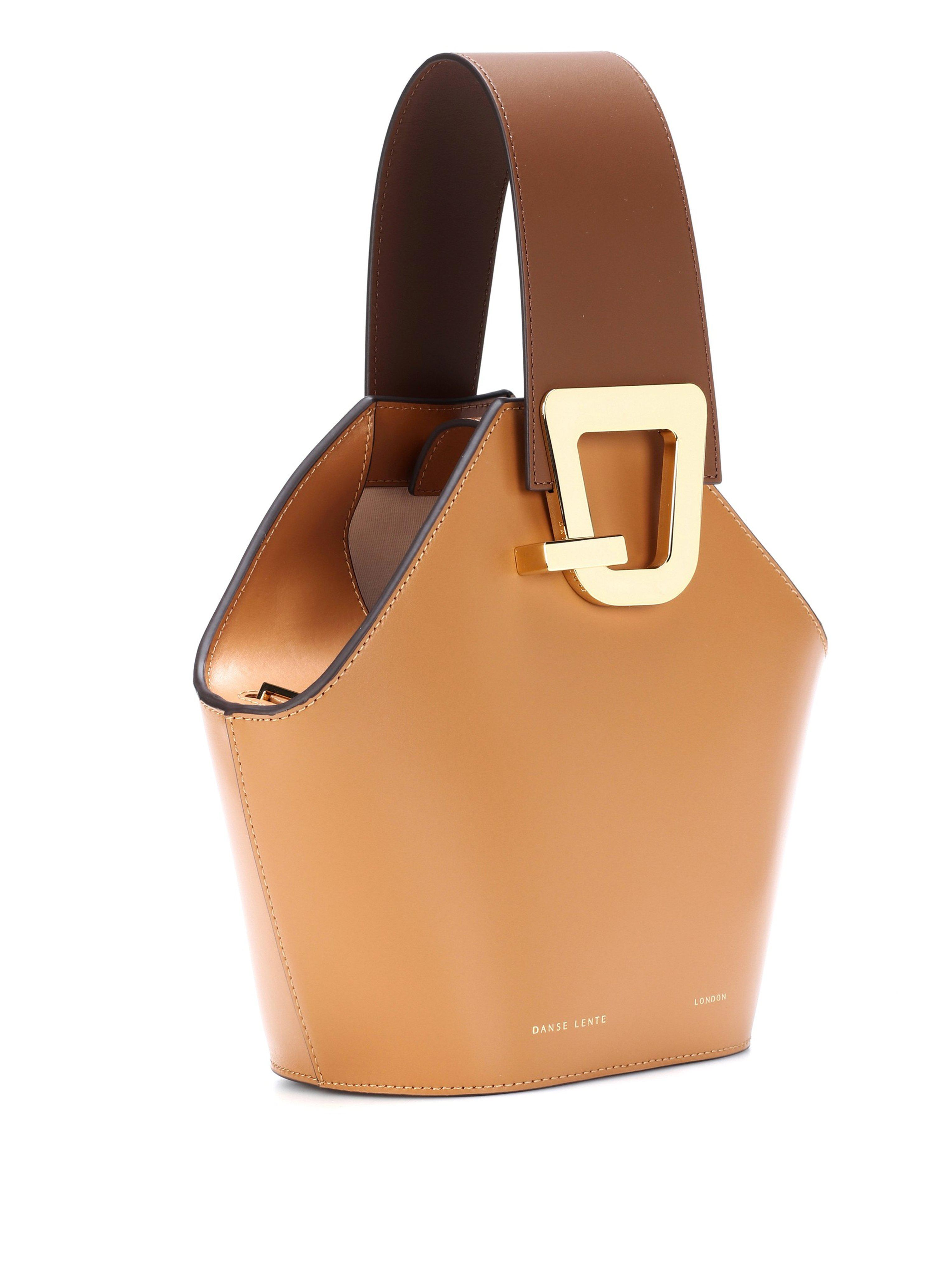 31969013d195 Lyst - Danse Lente Mini Johnny Bucket Bag In Light Brown Leather in Brown