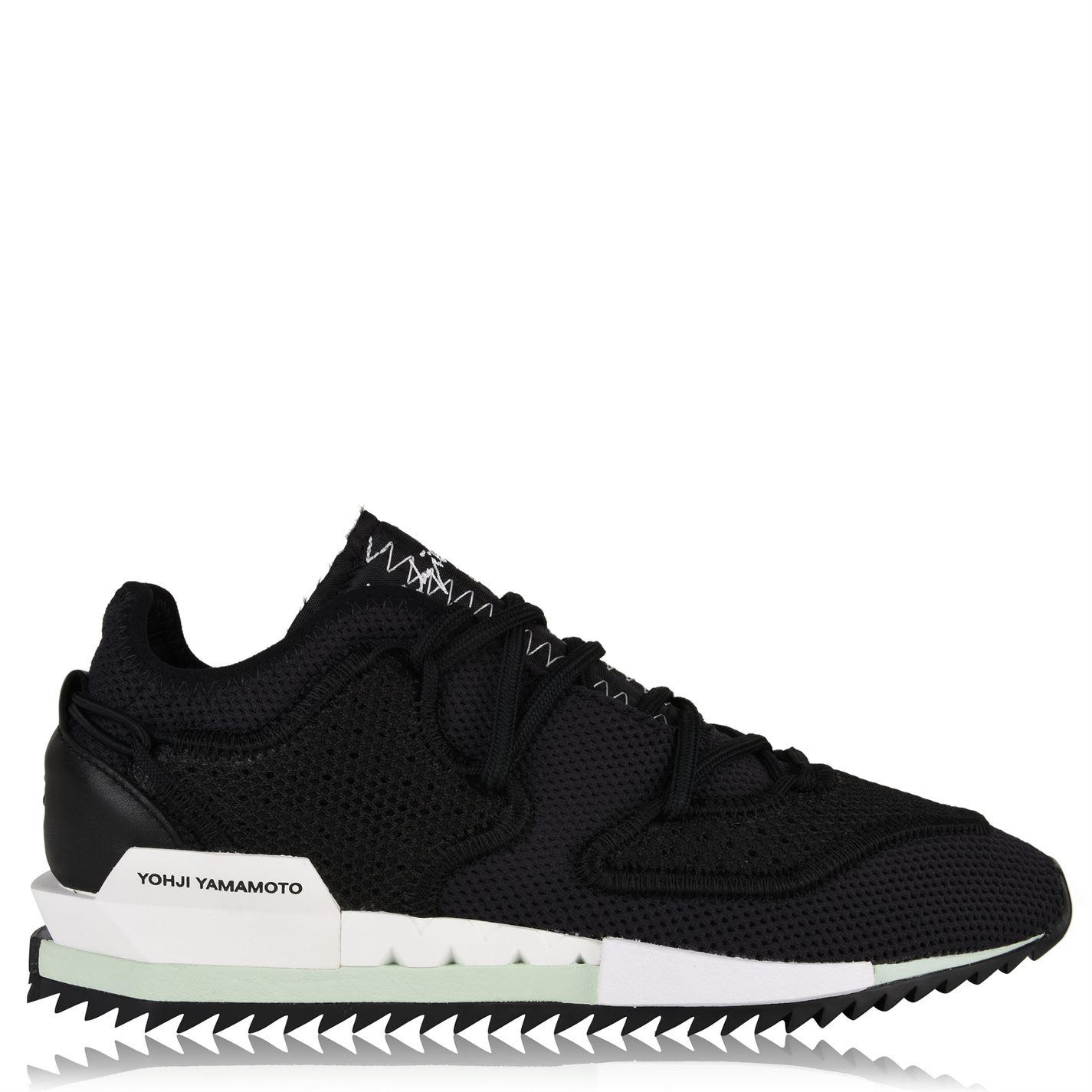the latest 02110 4d1d4 Y-3. Men s Black Harigane Knit Mesh Trainers