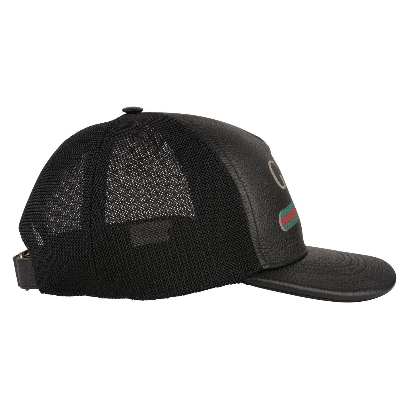 3d51fa3c14f7b Gucci Baseball Cap in Black for Men - Save 47% - Lyst